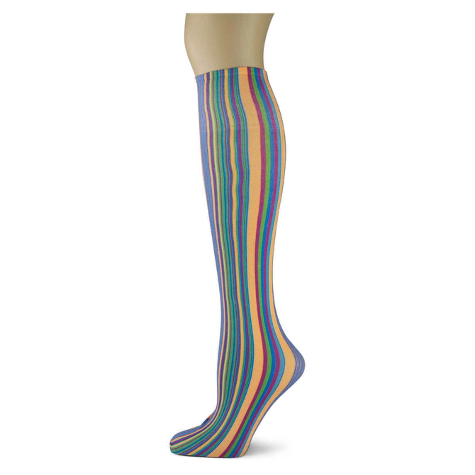 Sherry Stripe Knee Highs