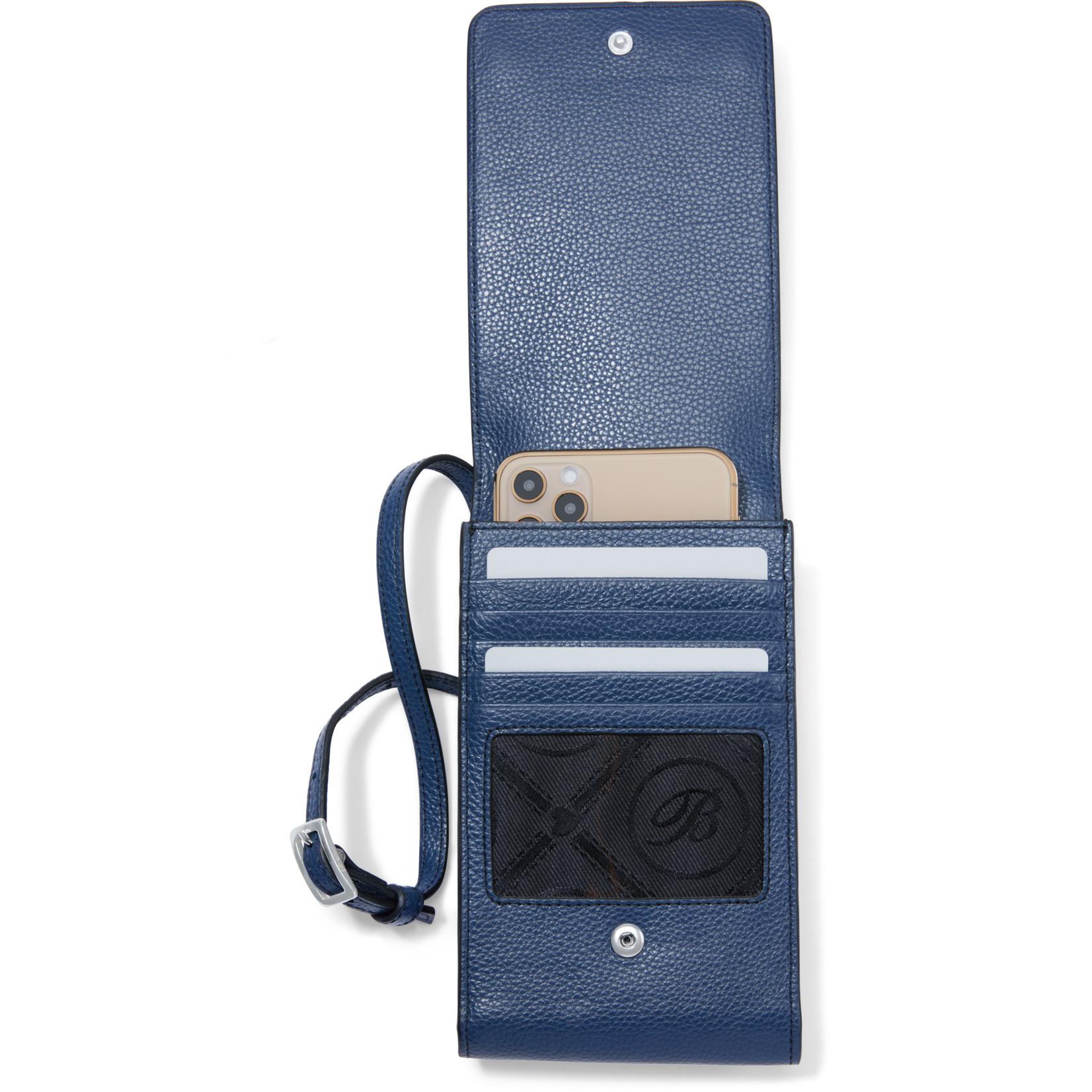 Brighton Interlok Phone Organizer French Blue