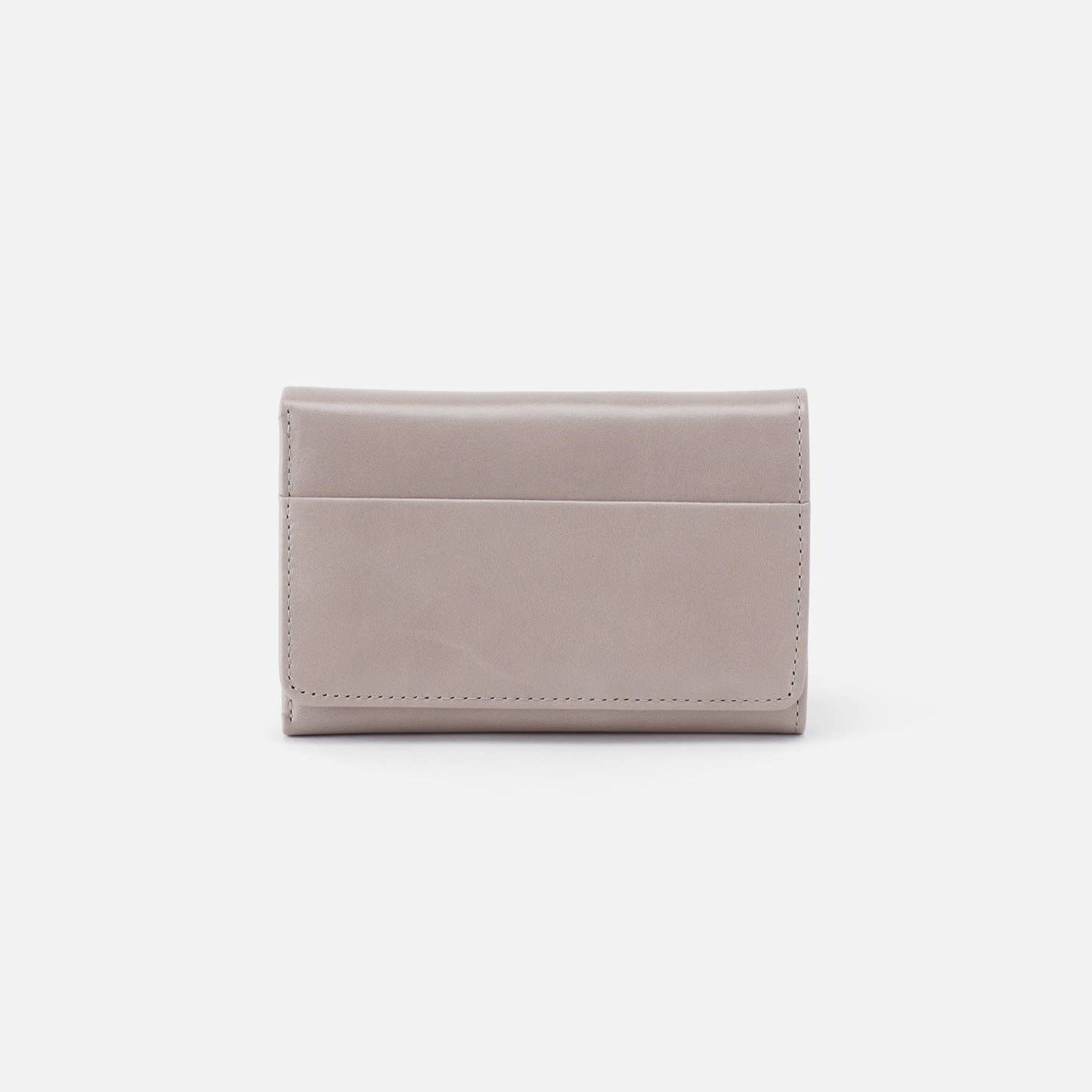 HOBO Jill Small Soft Leather Trifold Wallet - Driftwood