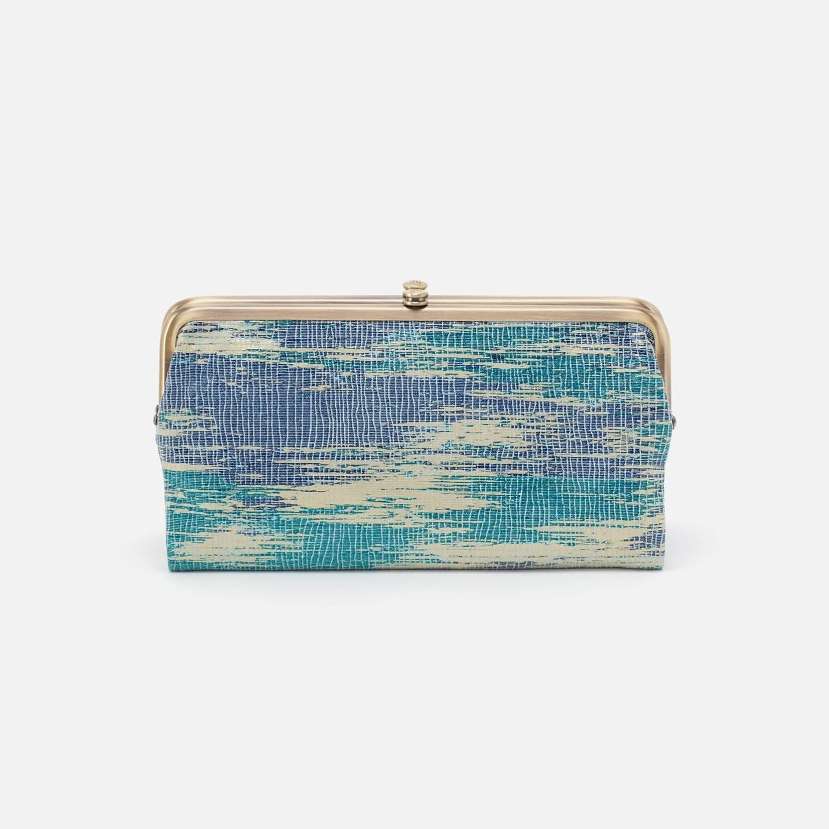 HOBO Lauren Crackd Glass Vintage Hide Leather Wallet