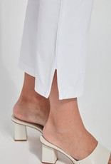 Nala Crop Bootcut - White