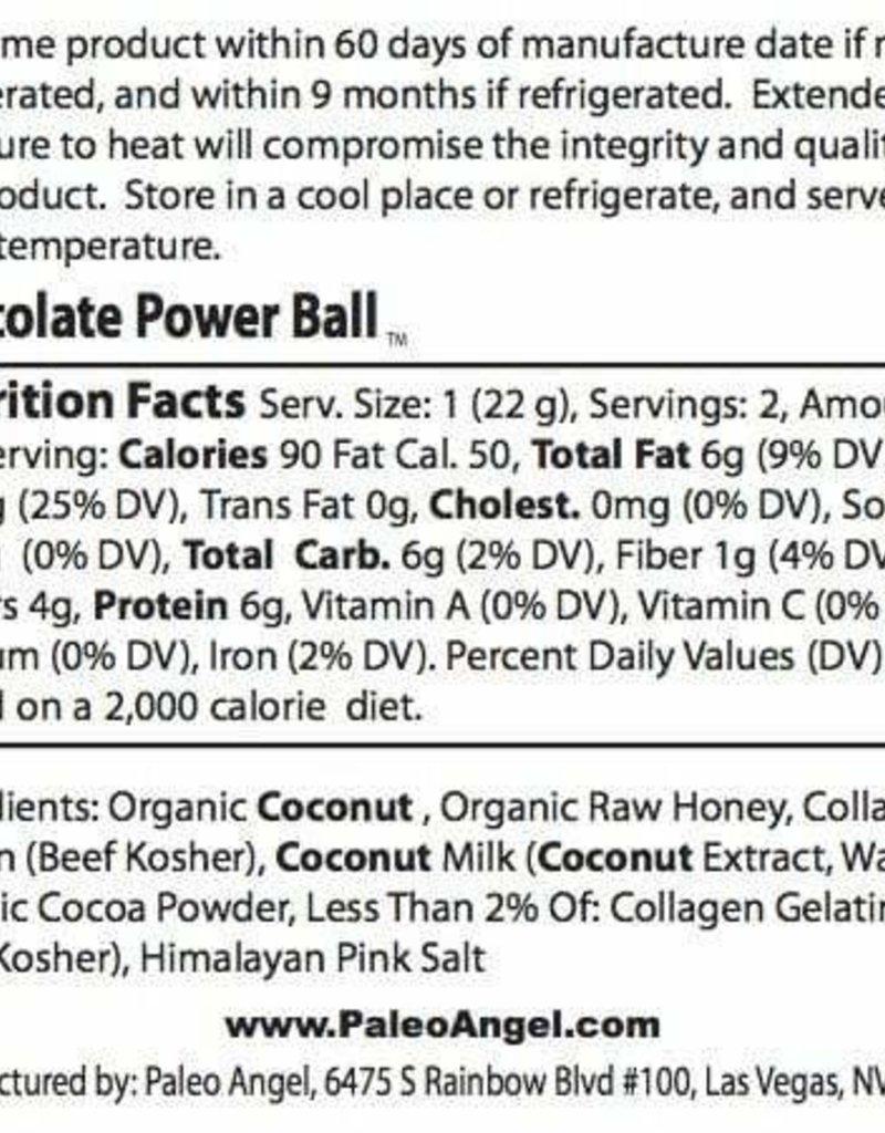 Paleo Angel Chocolate Brownie Protein Balls Snack Pack