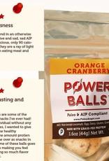 Paleo Angel Orange Cranberry Muffin Protein Balls Snack Pack