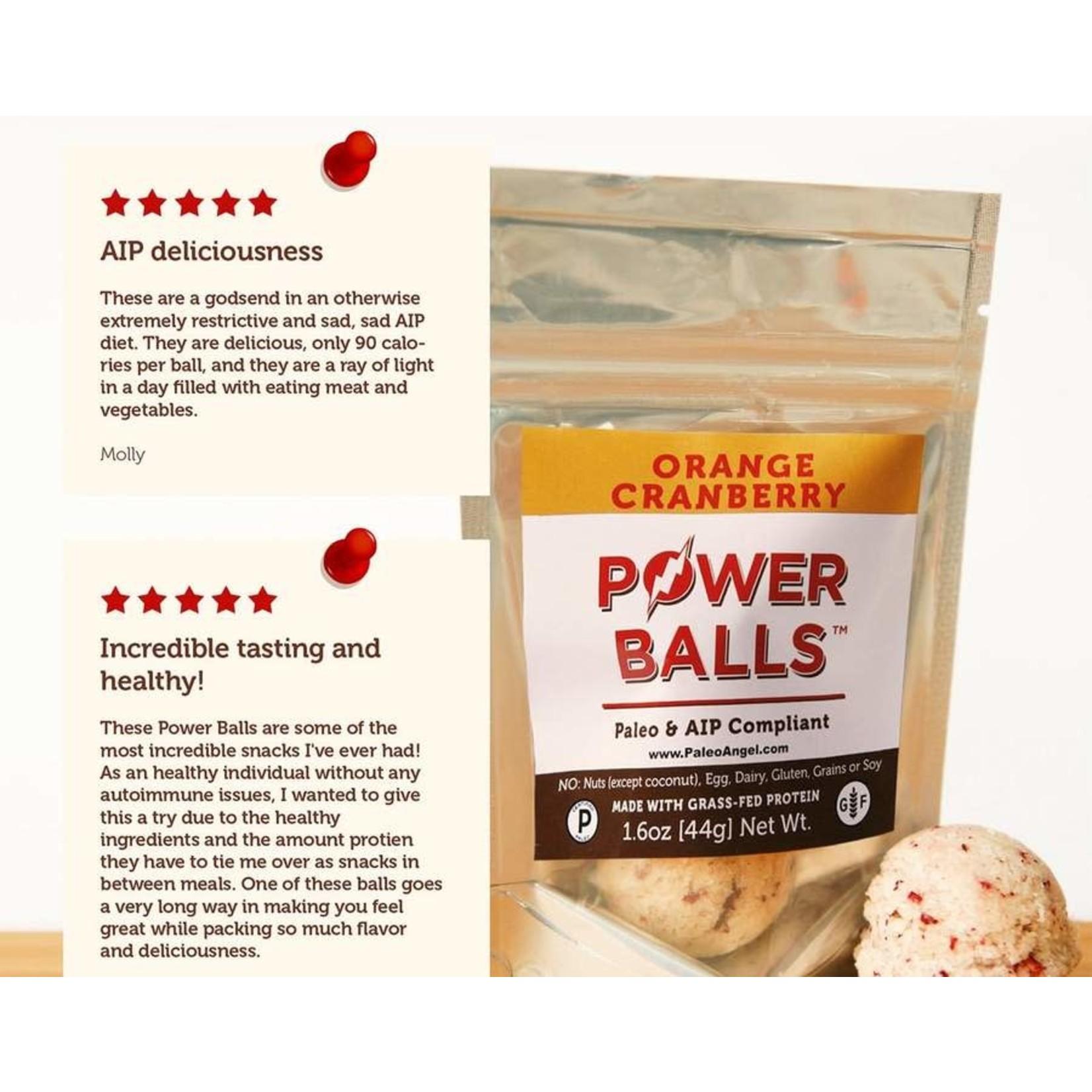 Orange Cranberry Muffin Protein Balls Snack Pack