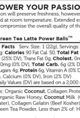 Paleo Angel Matcha Latte Protein Balls Snack Pack