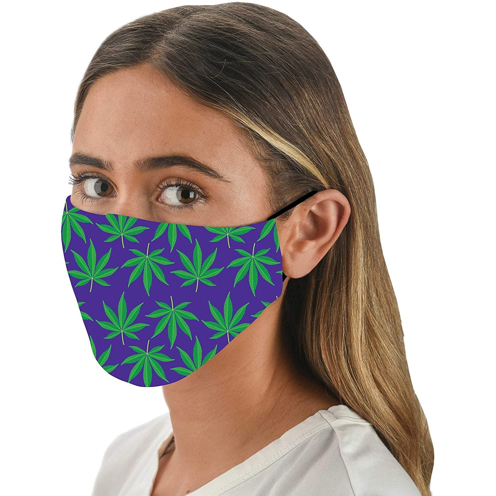 Snoozies Snoozies Pot Leaves Face Mask