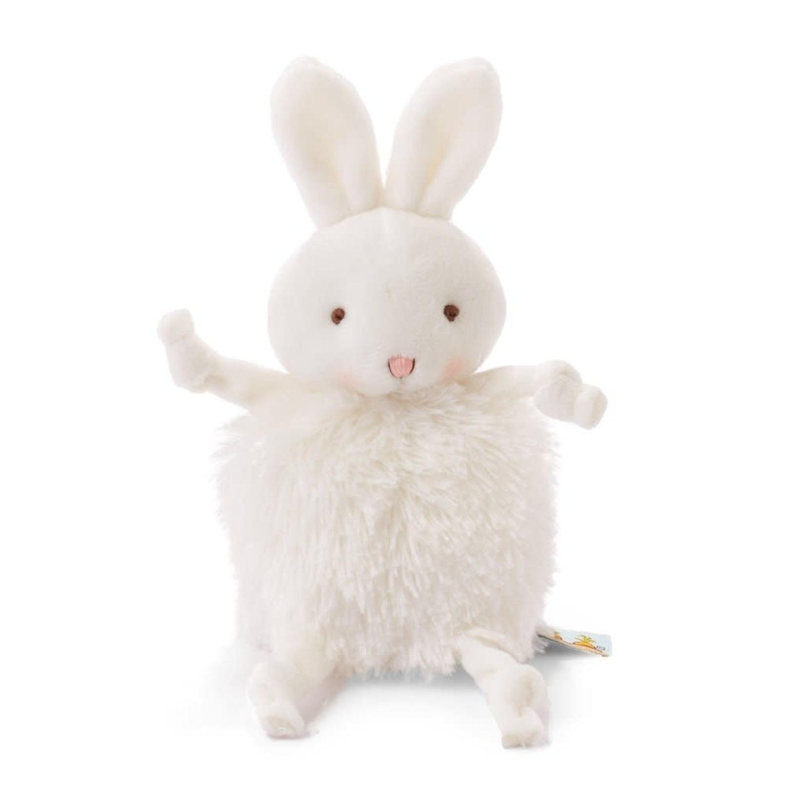 Bunnies By  Bay Roly Poly Bun Bun White