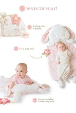 Bunnies By  Bay Blossom Bunny Pillow Play Mat 3 in 1