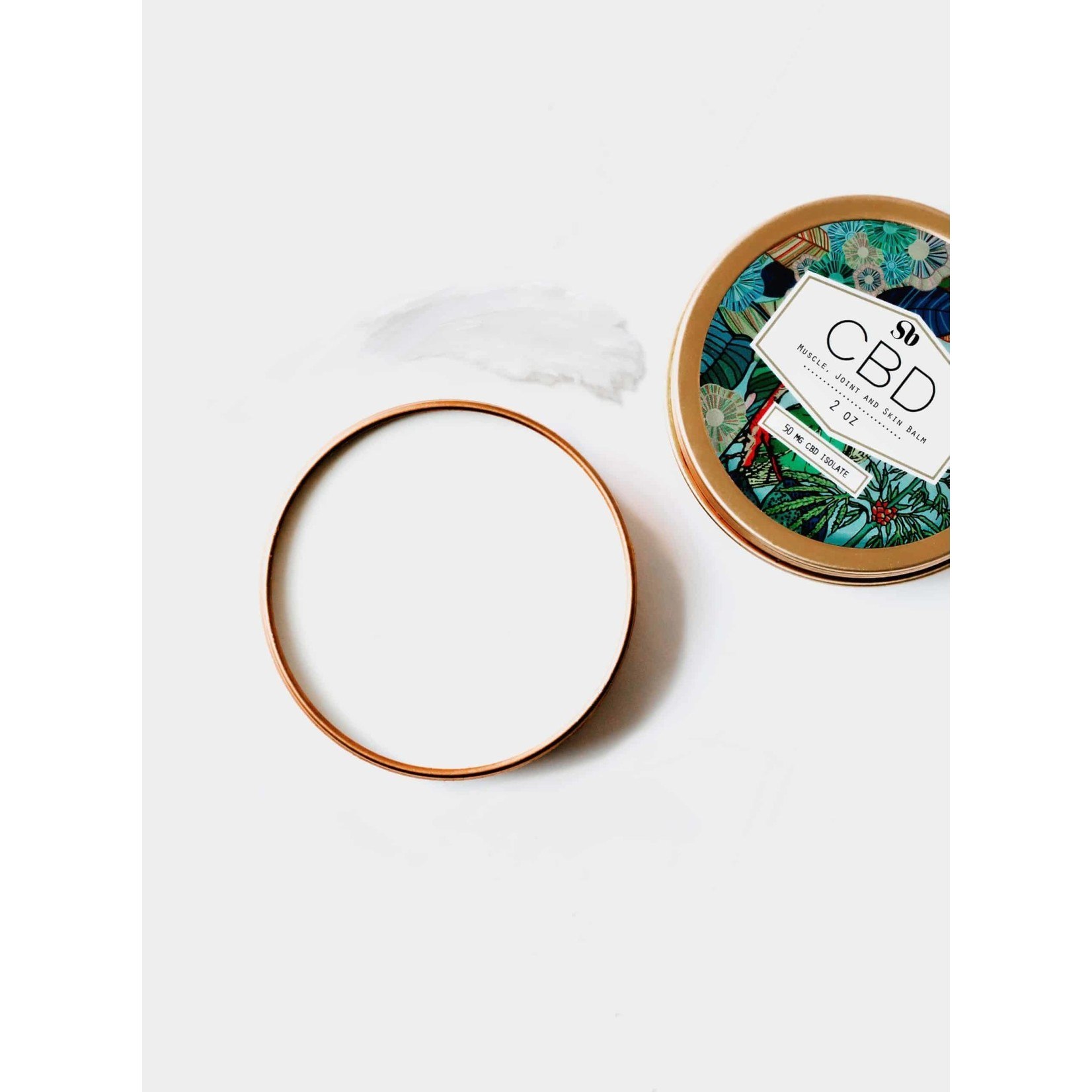 CBD Muscle Joint and Skin Balm 2 oz