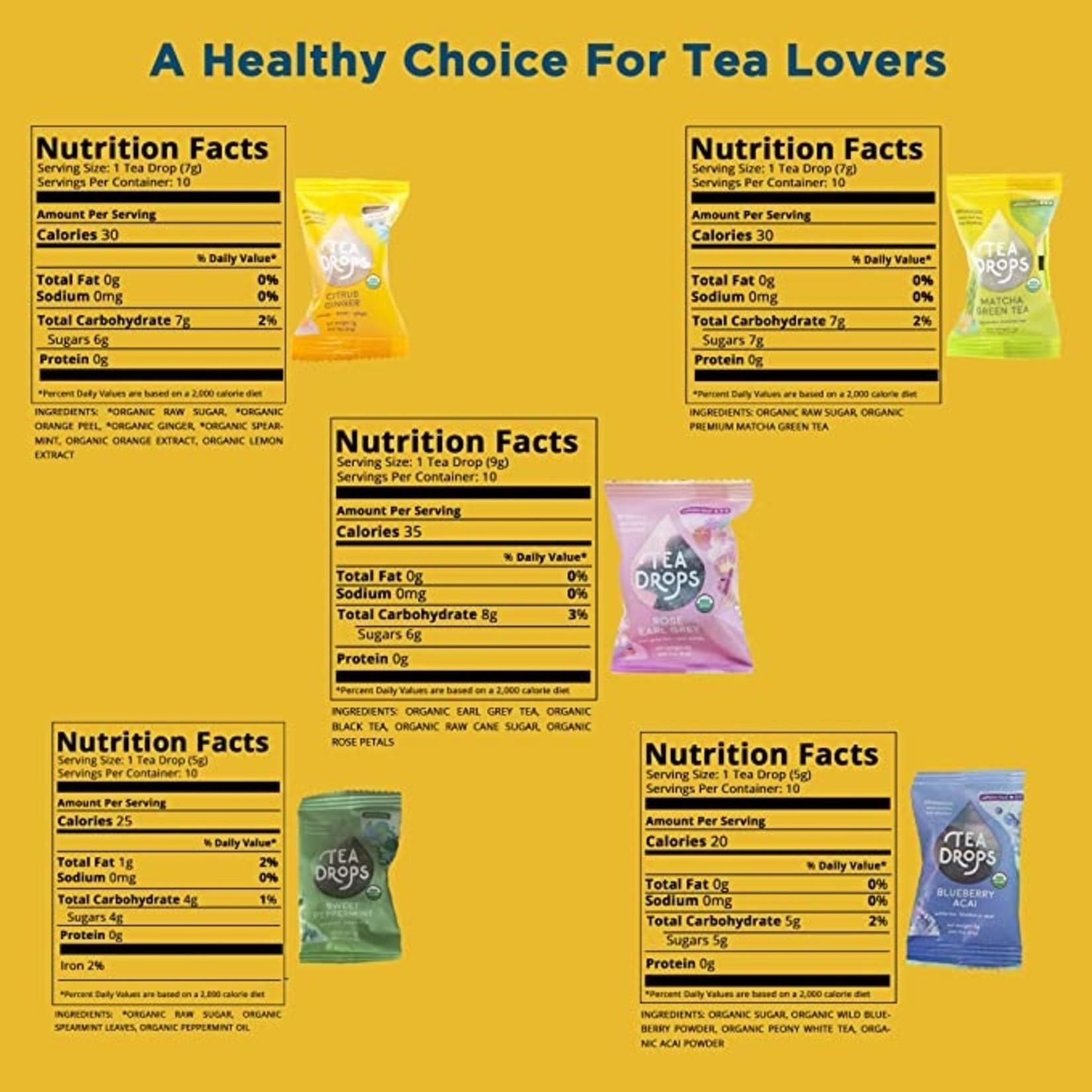 Tea Drops Rose Earl Grey Single Serving