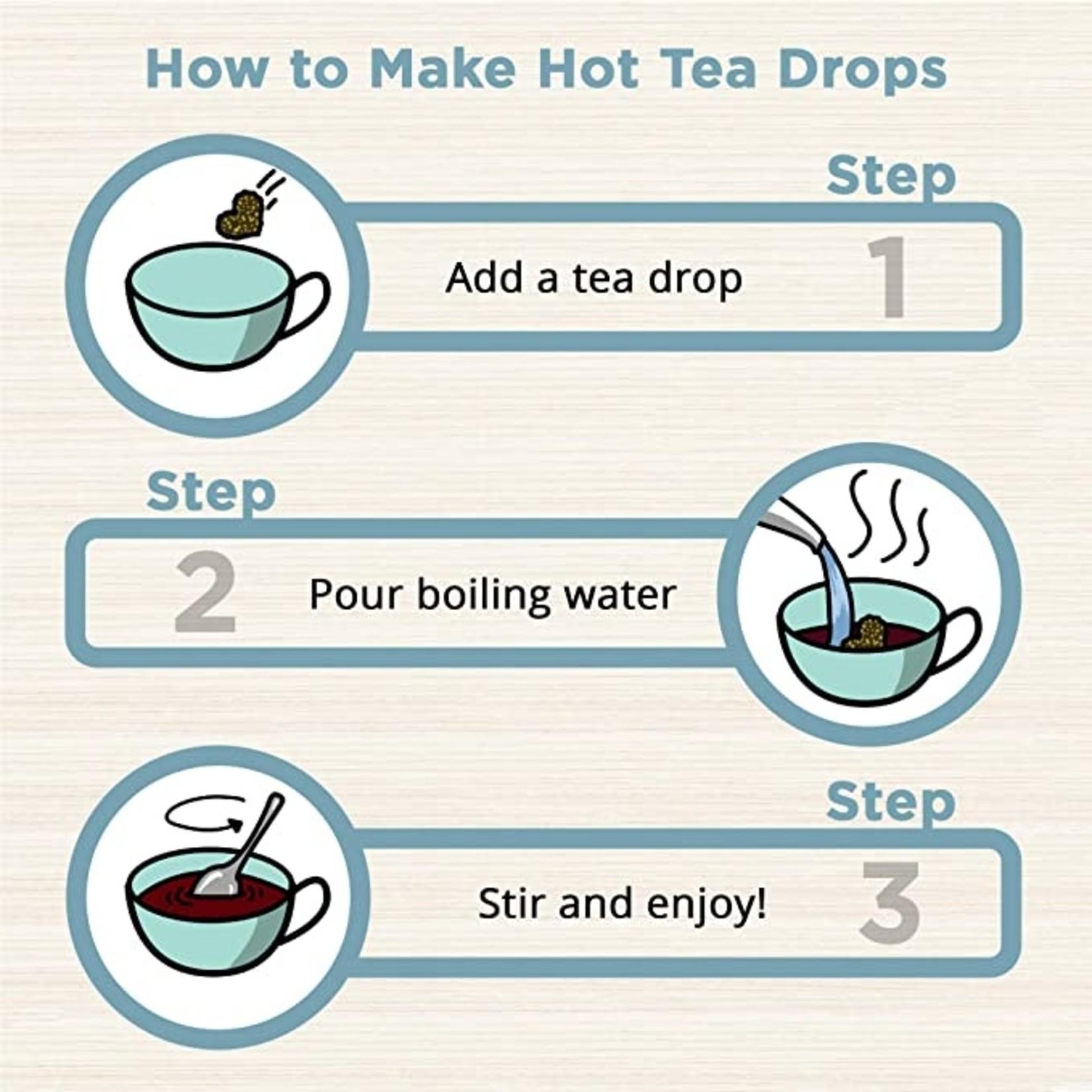 Tea Drops Sweet Peppermint Single Serving
