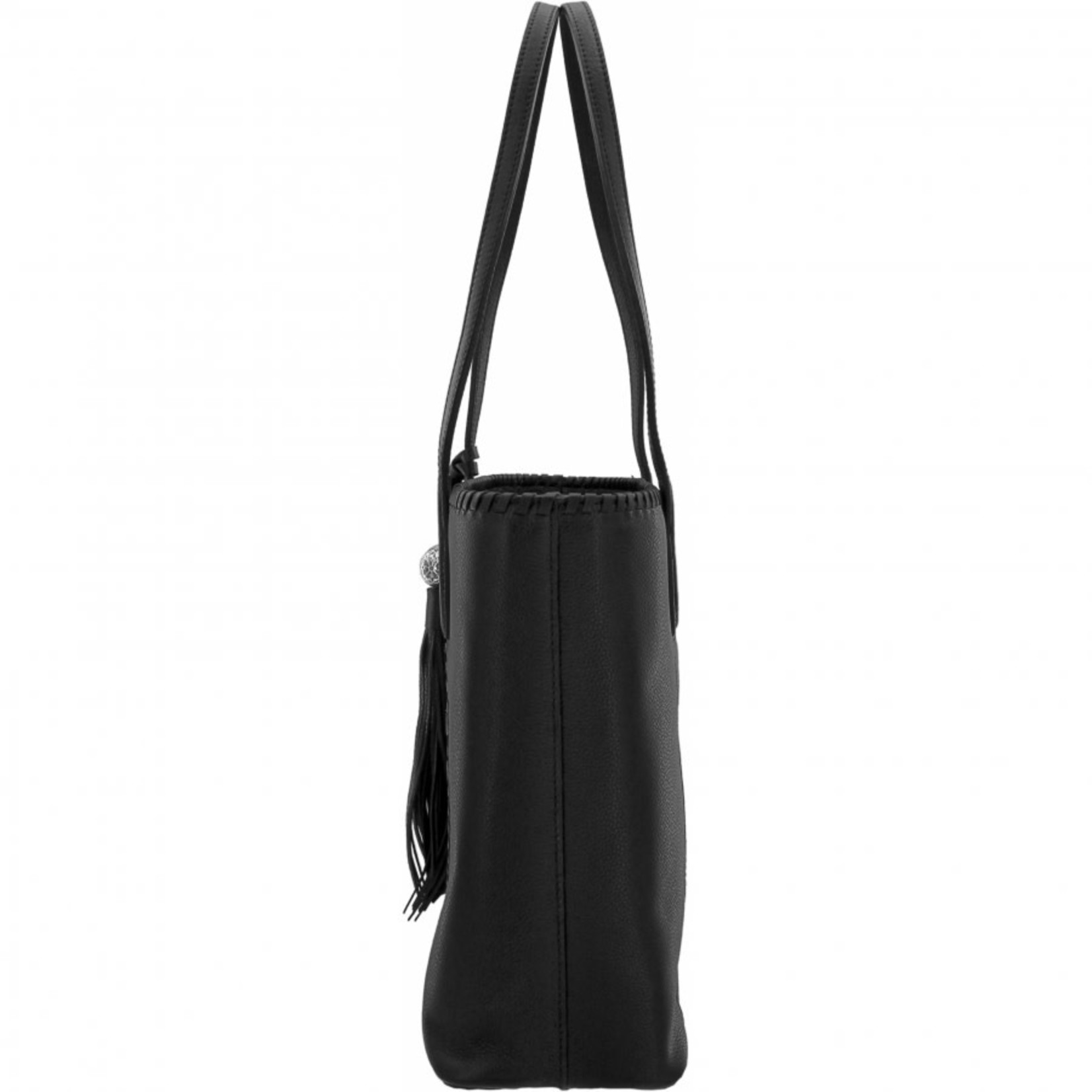 Brighton Gabriella Medallion Large Tote in Black