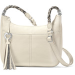 Brighton Baby Barbados Cross Body Hobo White-Neutral