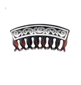 Brighton Eve Delight Silver Hair Clip
