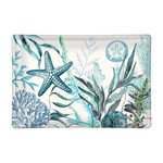 Michel Design Works Ocean Tide Rectangular Glass Soap or Trinket Dish