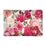 Michel Design Works Royal Rose Rectangular Glass Soap or Trinket Dish