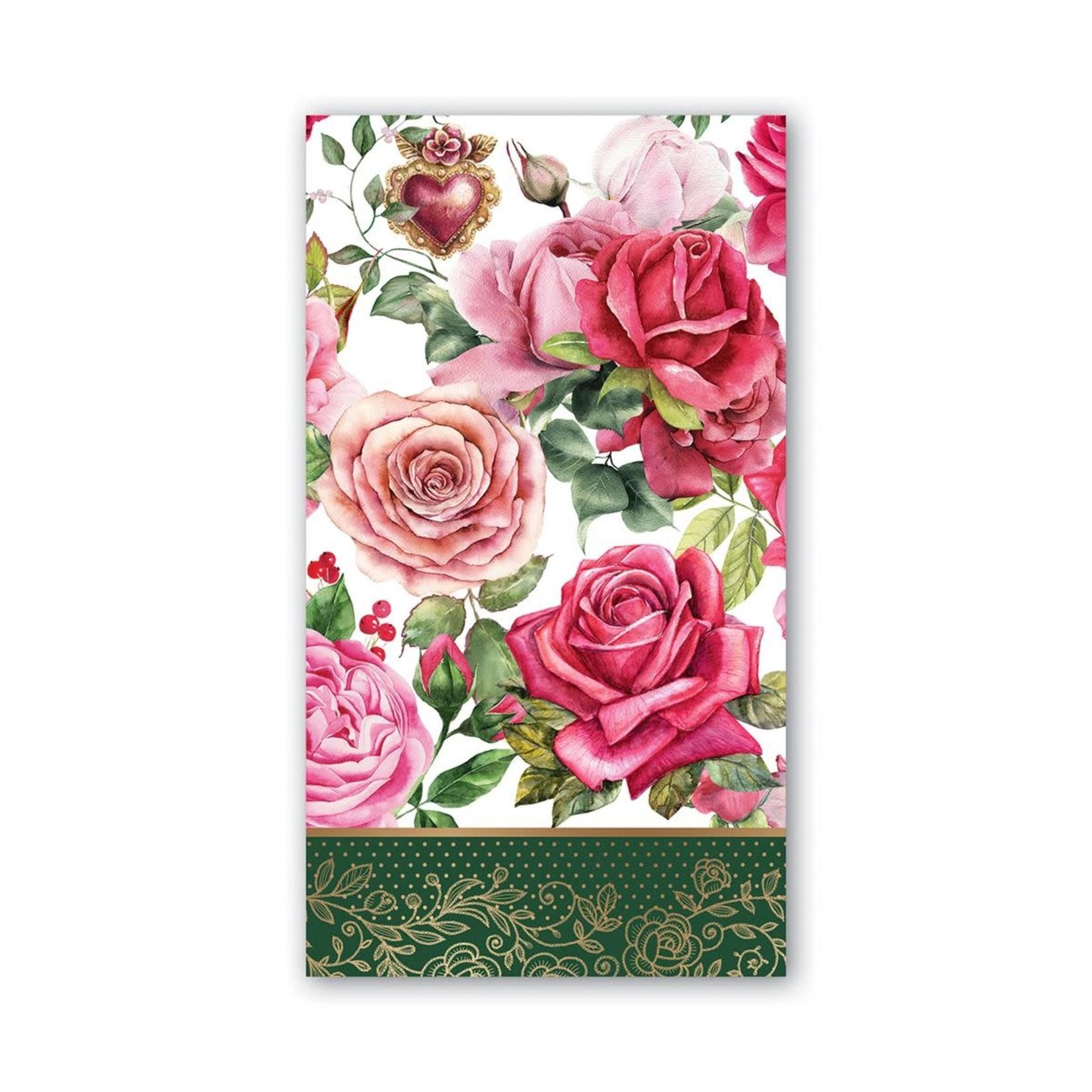 Michel Design Works Royal Rose Hostess Napkin