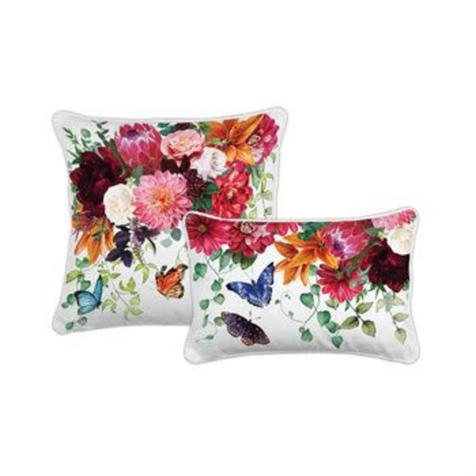 Michel Design Works Sweet Floral Melody Rectangular Pillow