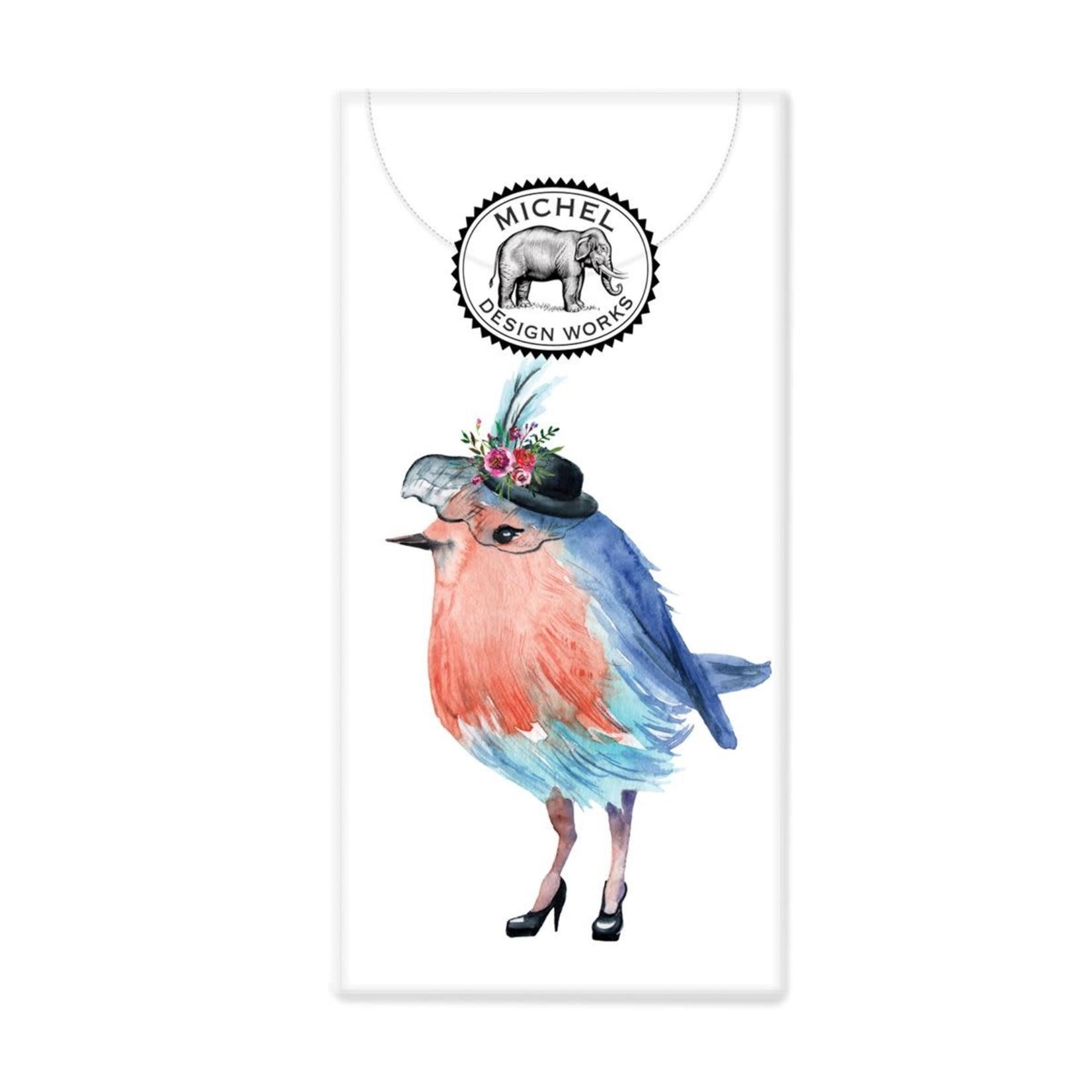 Michel Design Works Garden Party Bird Pocket Tissues