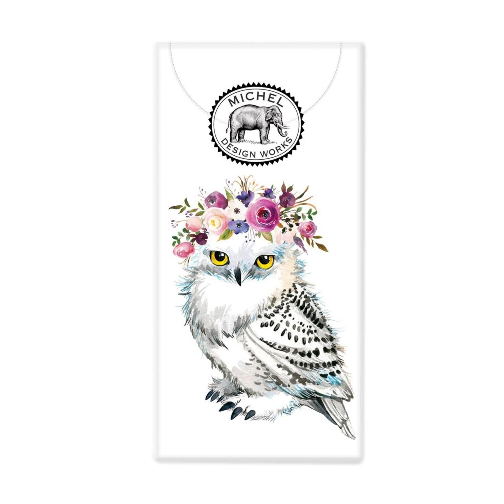 Michel Design Works Garden Party Owl Pocket Tissues