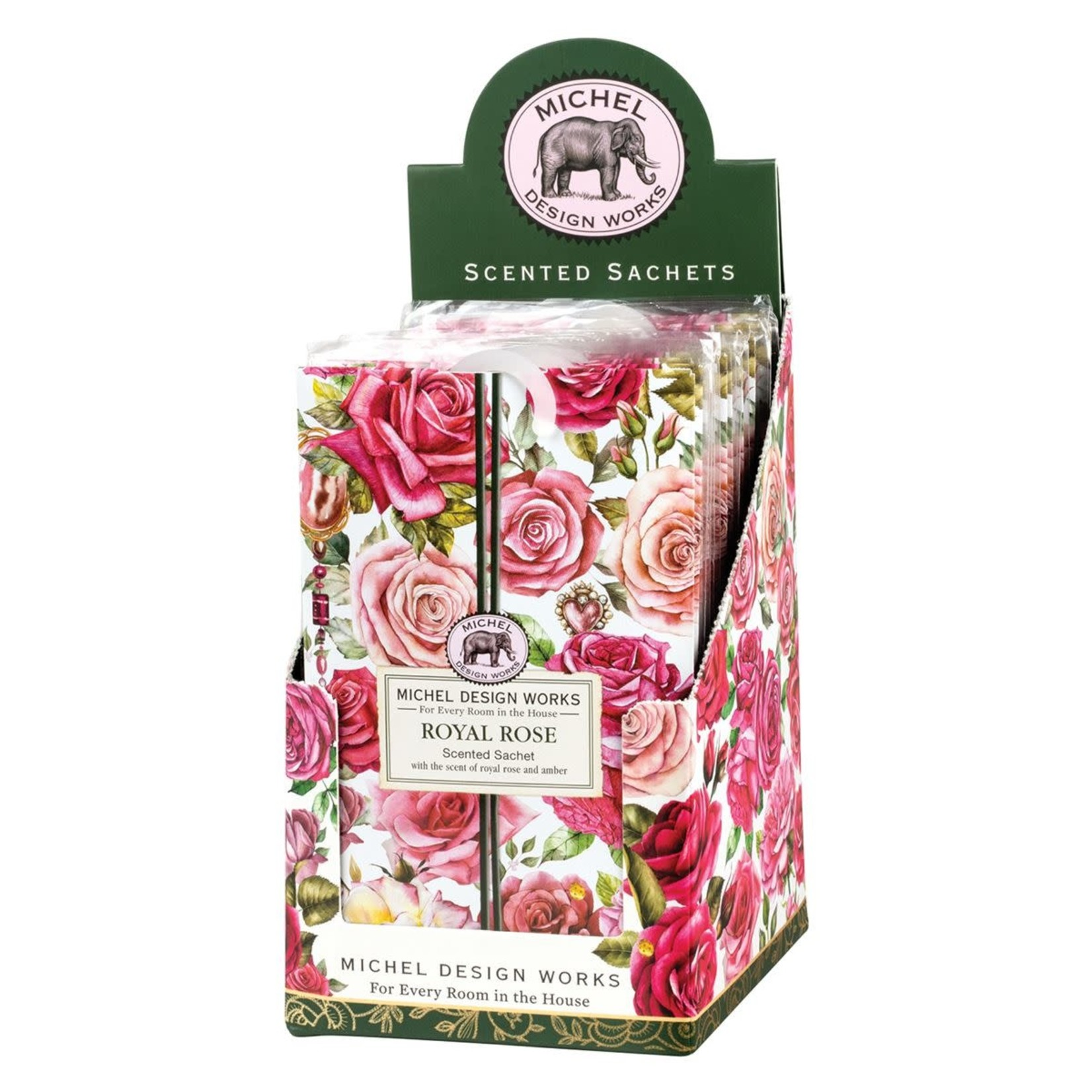 Michel Design Works Royal Rose Scented Sachet 7 oz Packet