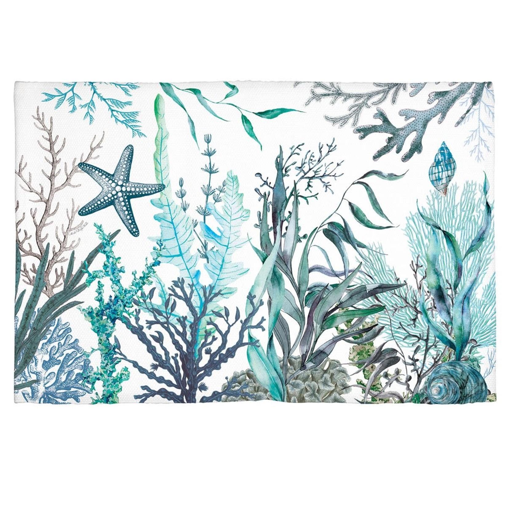 "Michel Design Works Ocean Tide Kitchen Rug 20"" x 30"""
