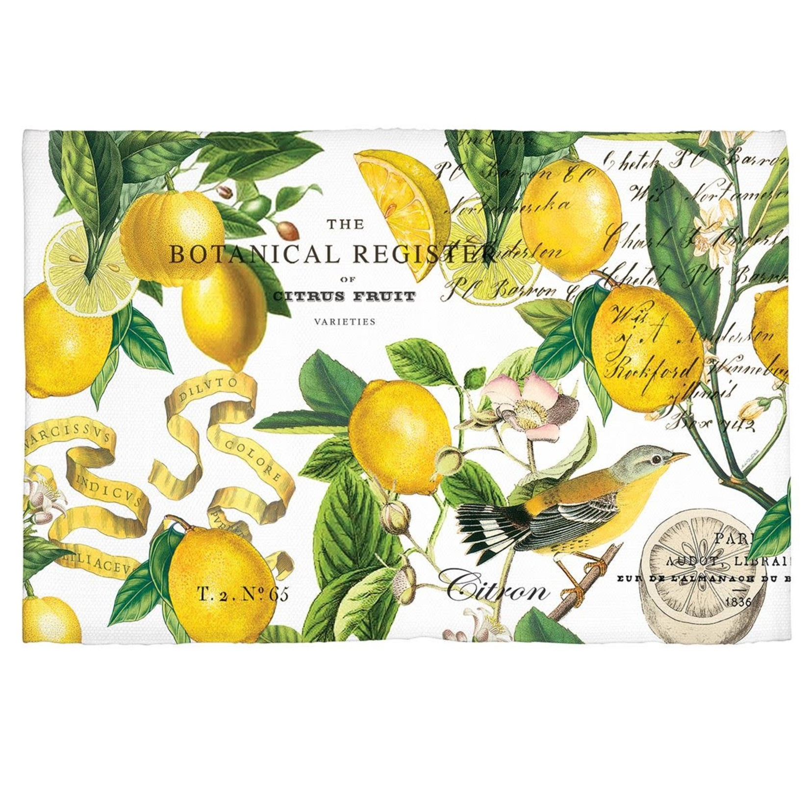 "Michel Design Works Lemon Basil Scatter Rug 20"" x 30"""