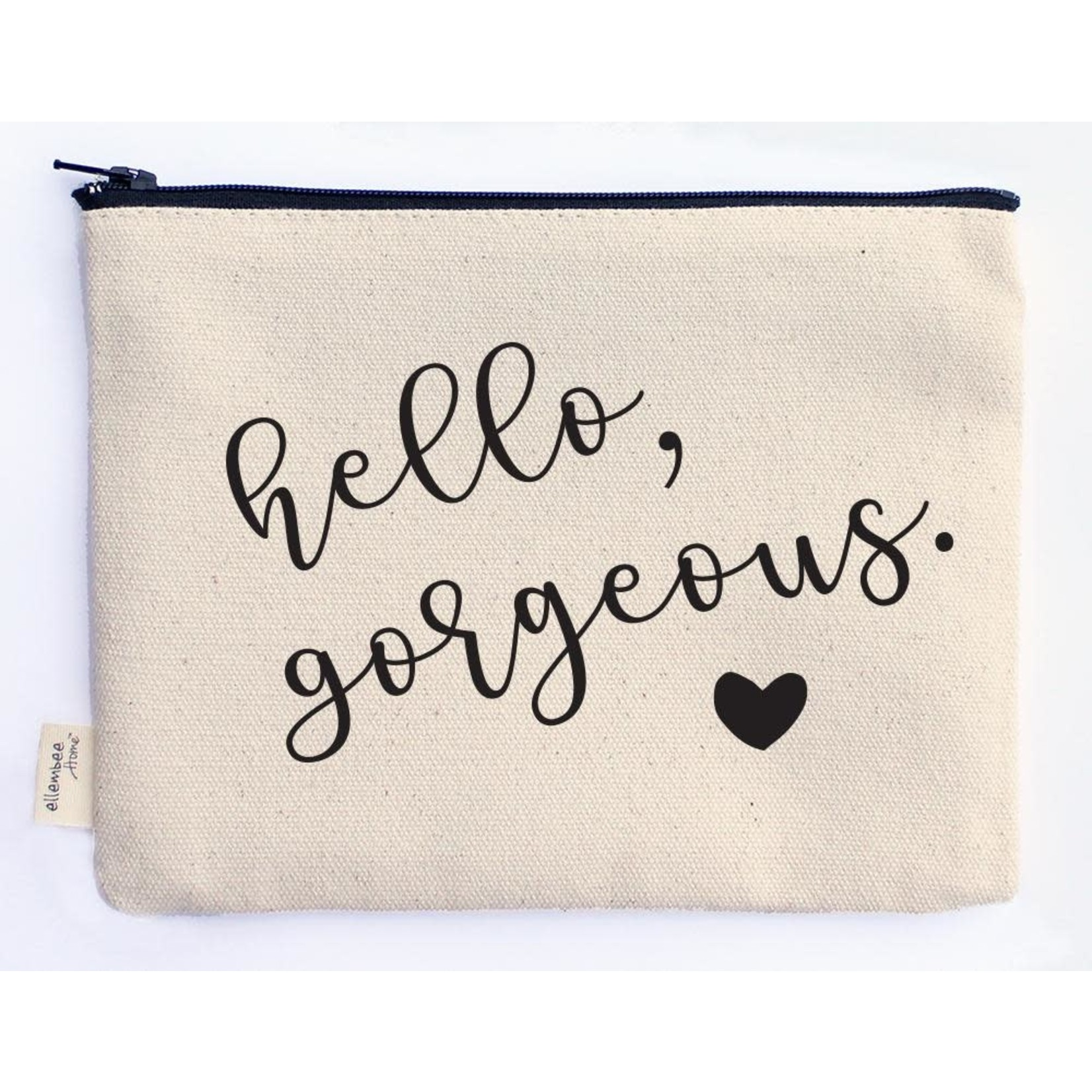 ellembee gift Hello Gorgeous  Zipper Pouche