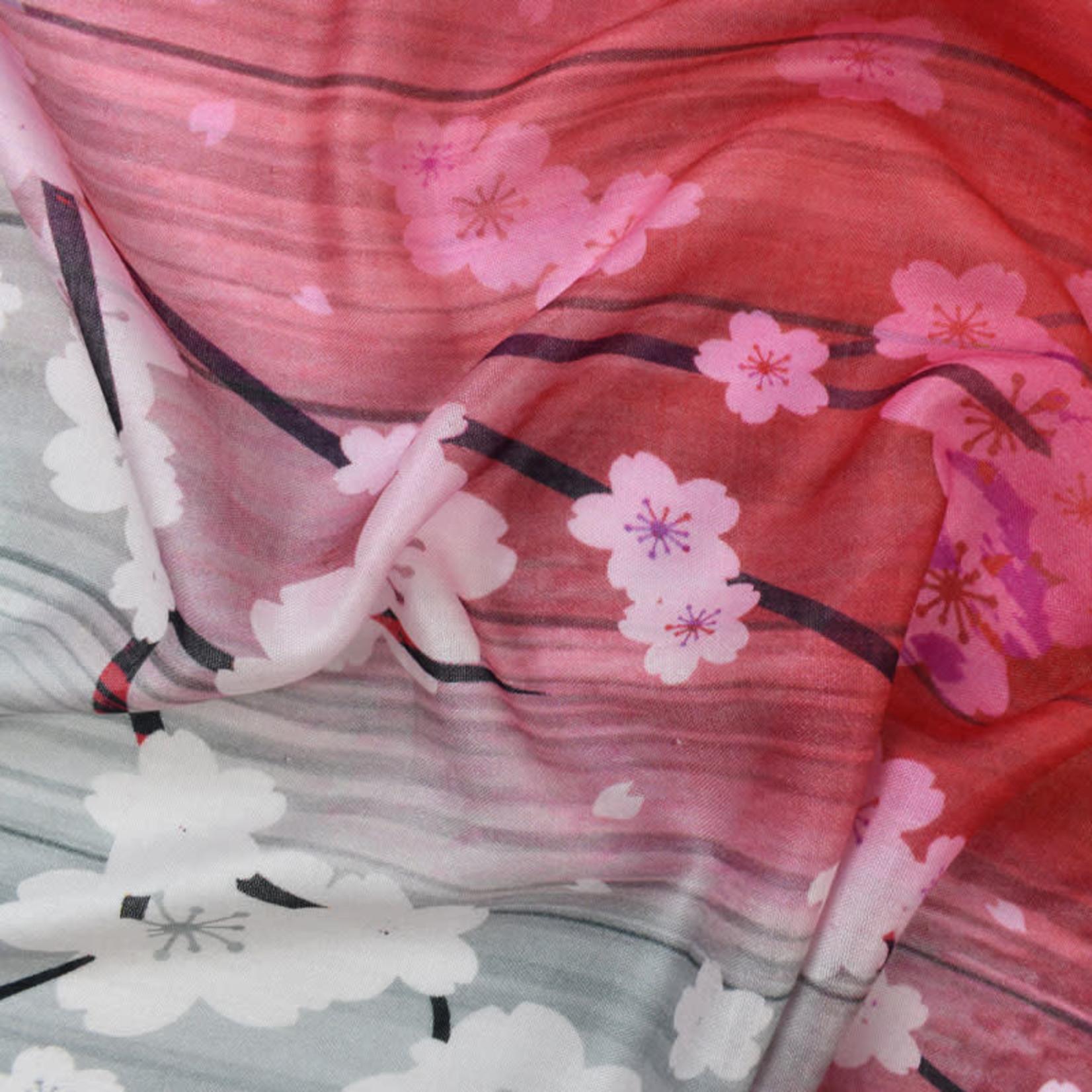 Yoshino Cherry Blossom Scarf