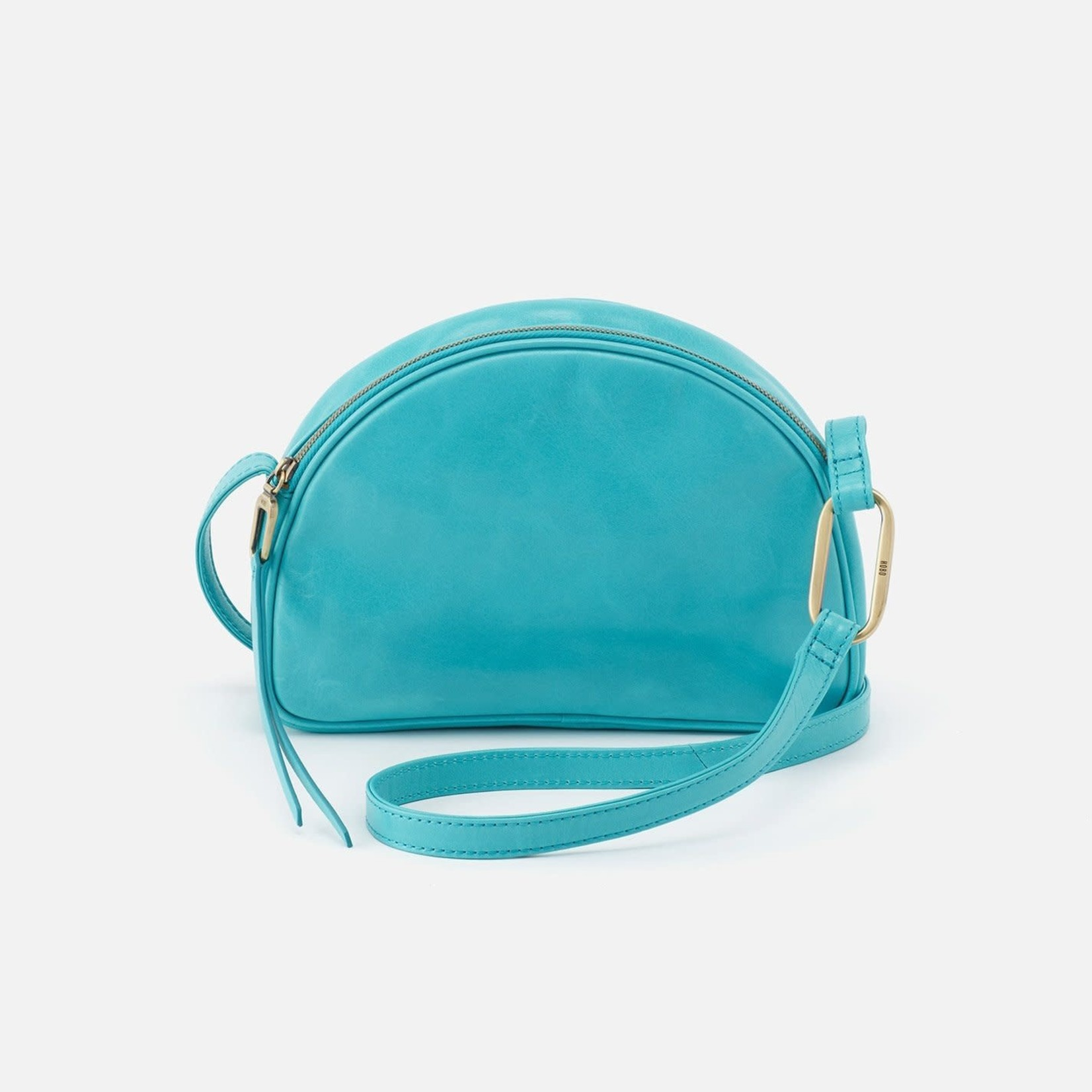HOBO Reach Aqua Vintage Hide Leather Crossbody