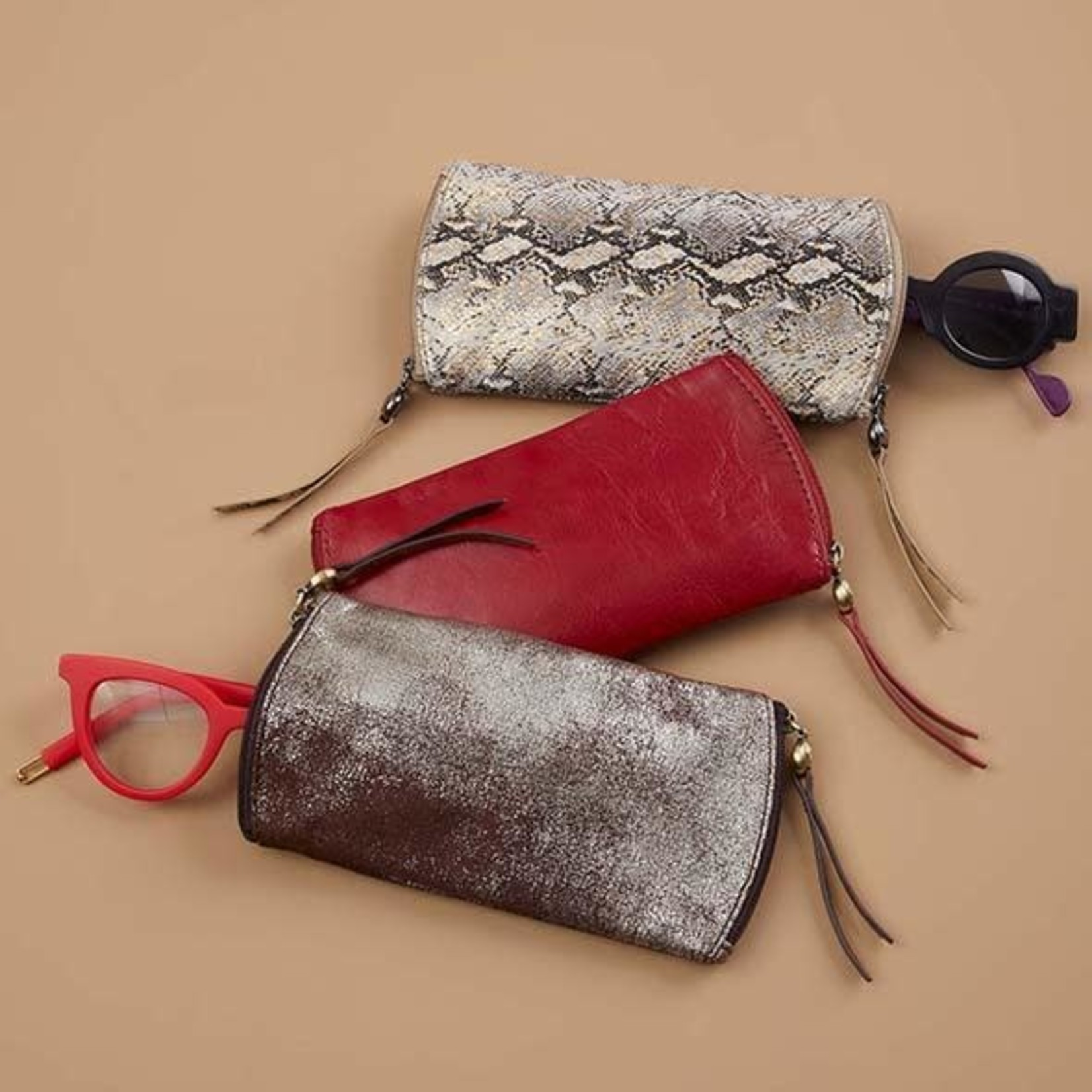 HOBO Spark Leather Glasses Case