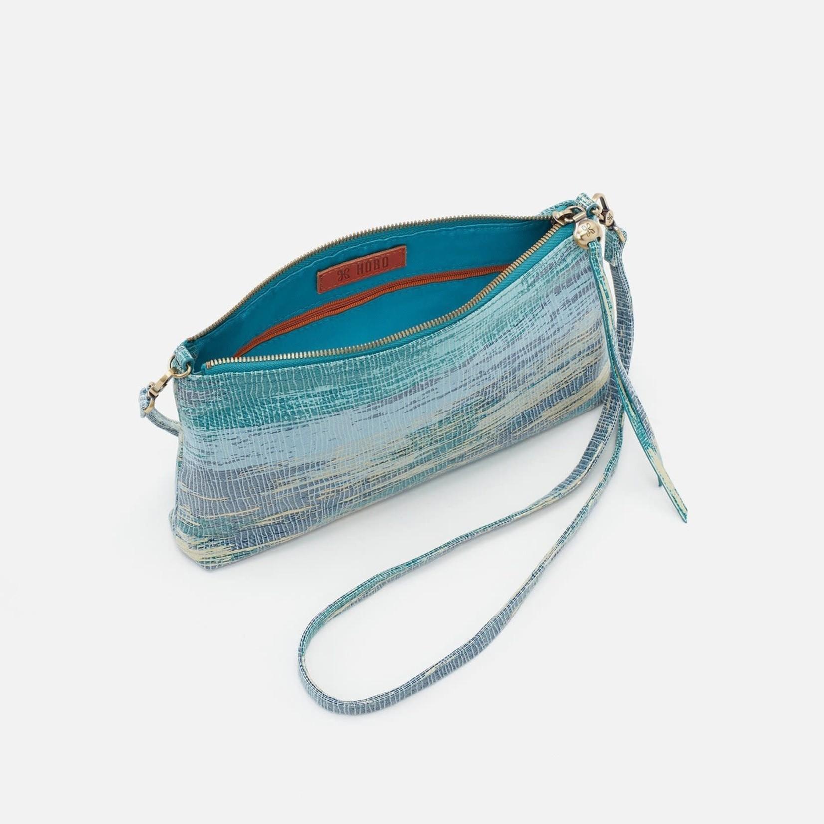 HOBO Darcy Cracked Glass Vintage Hide Leather Wristlet/Crossbody