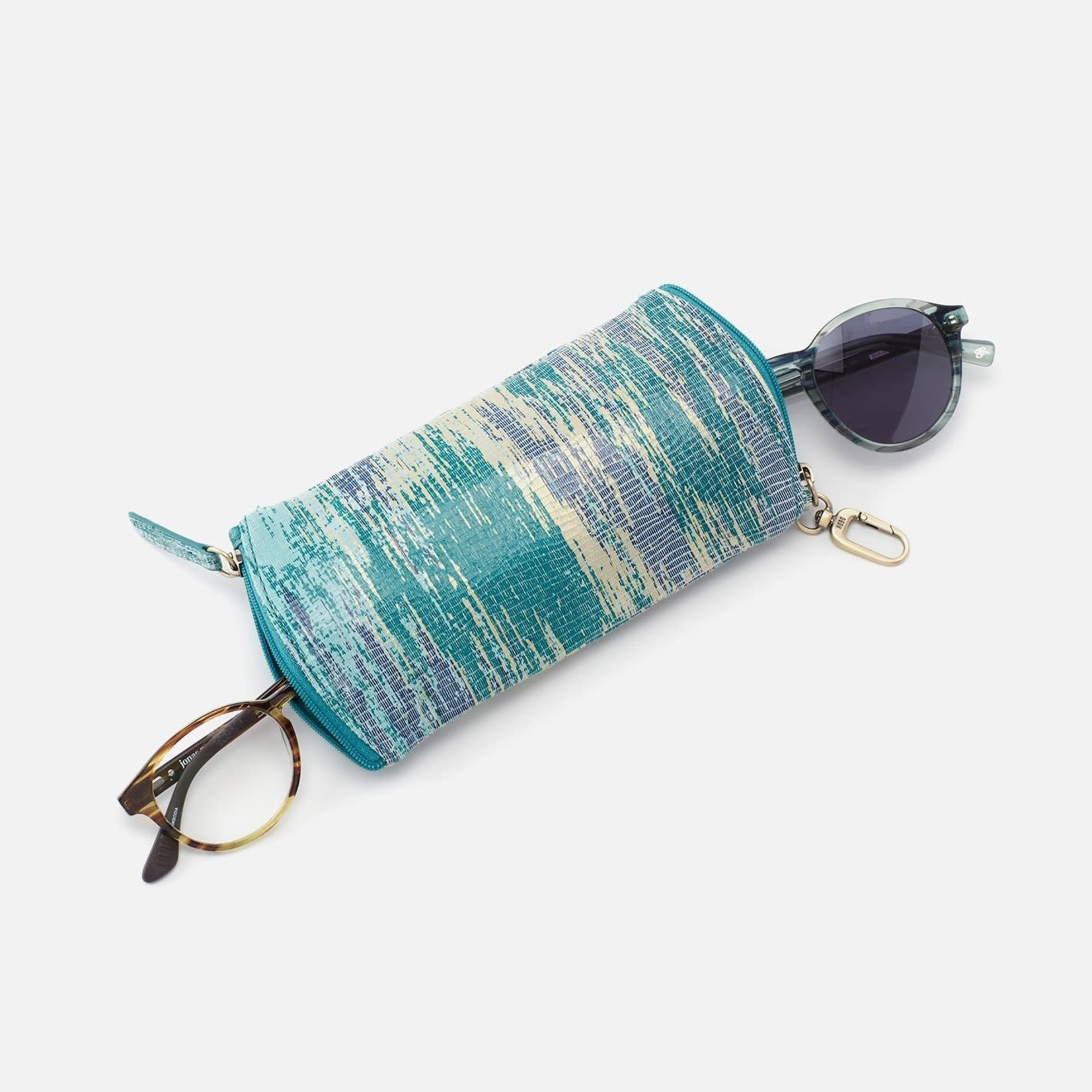HOBO Spark Leather Glasses Case - Cracked Glass