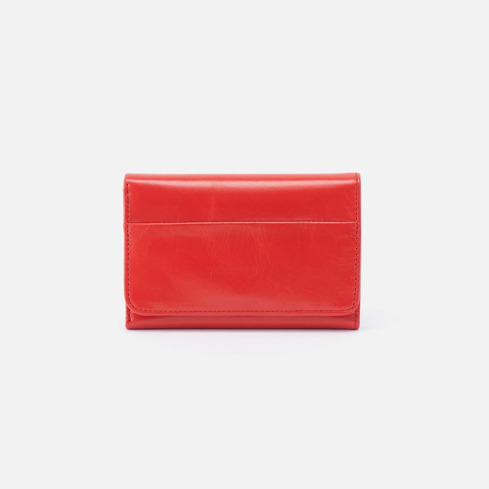 HOBO Jill Small Soft Leather Trifold Wallet - Rio