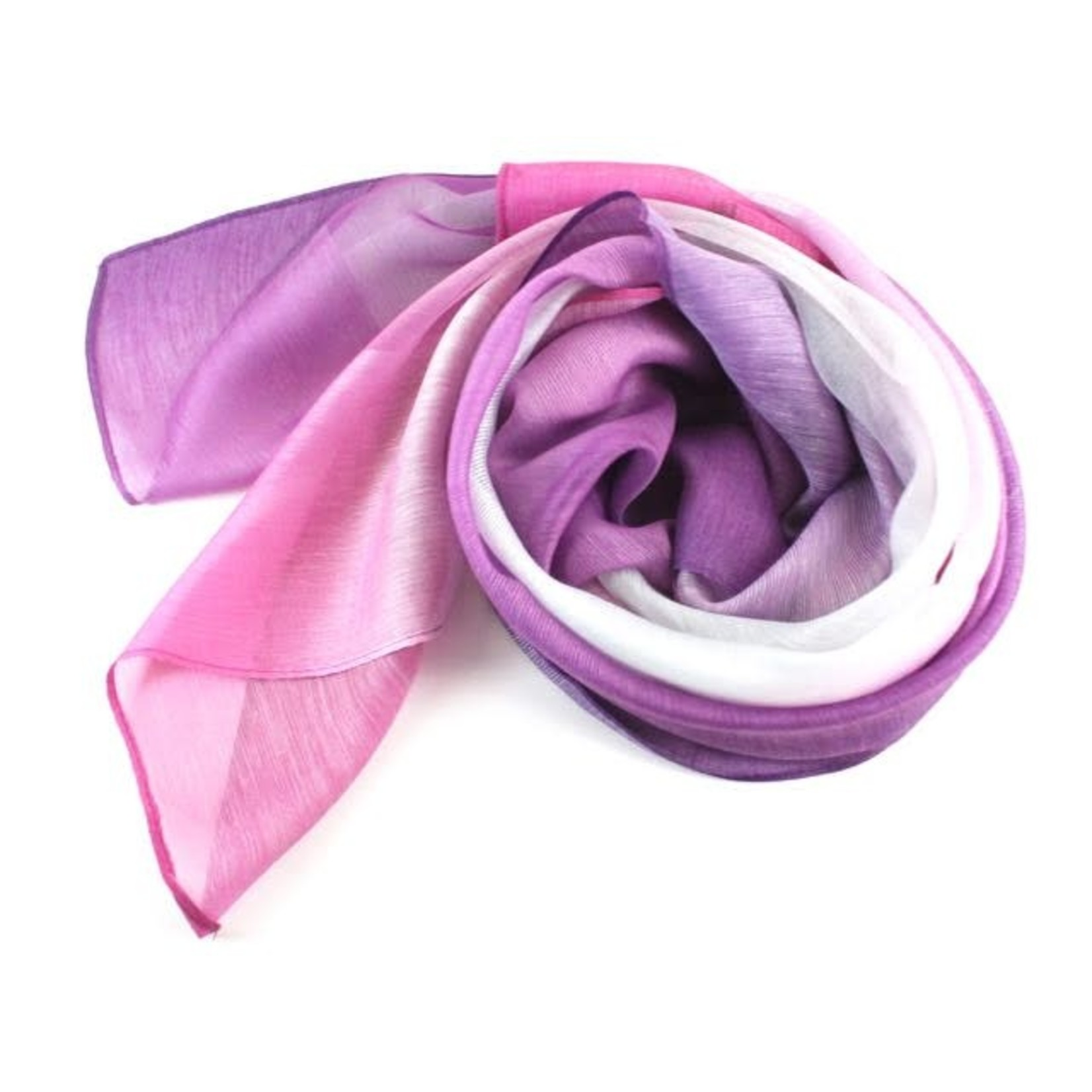 Secret Spring Hot Pink and Purple Scarf