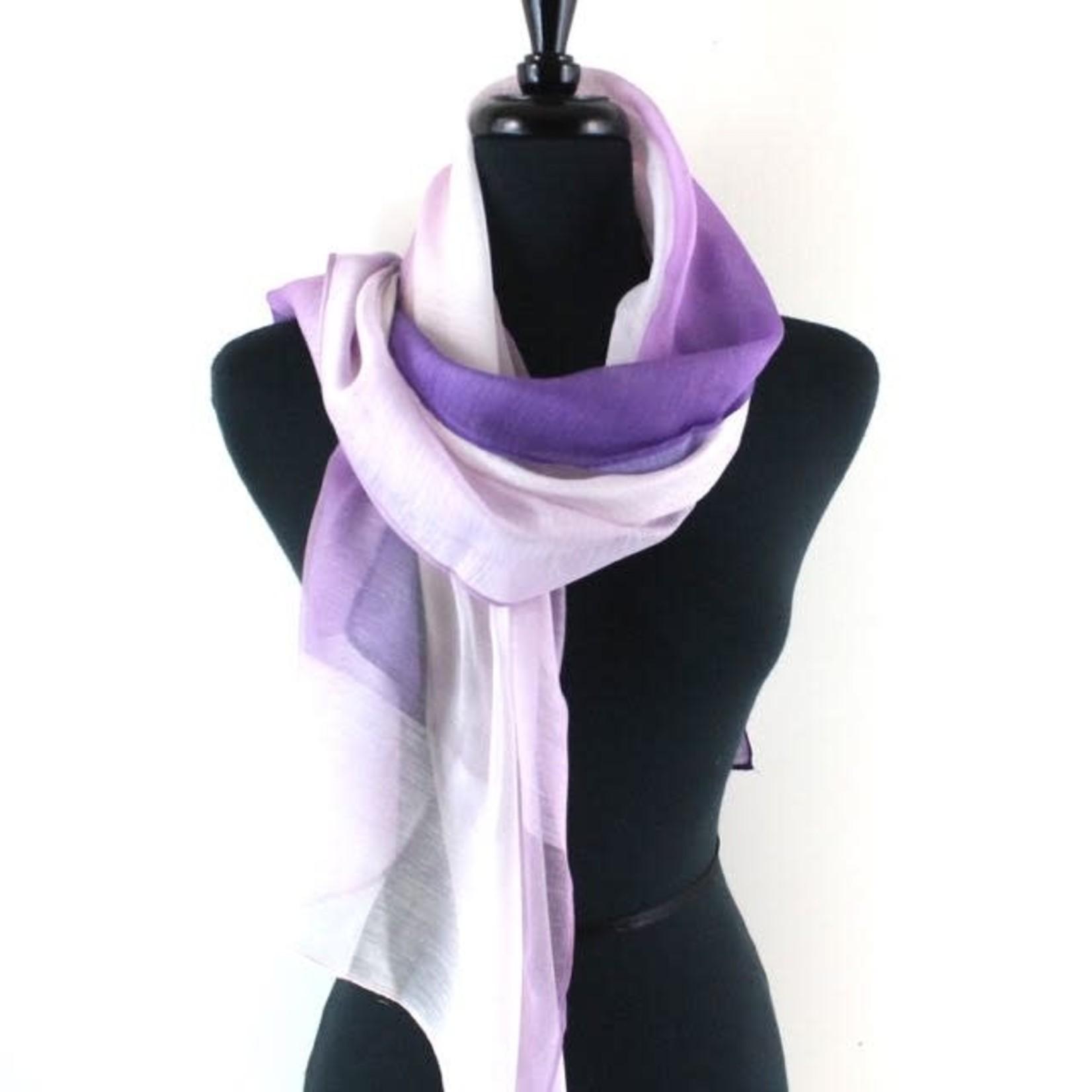 Secret Spring Purple Scarf
