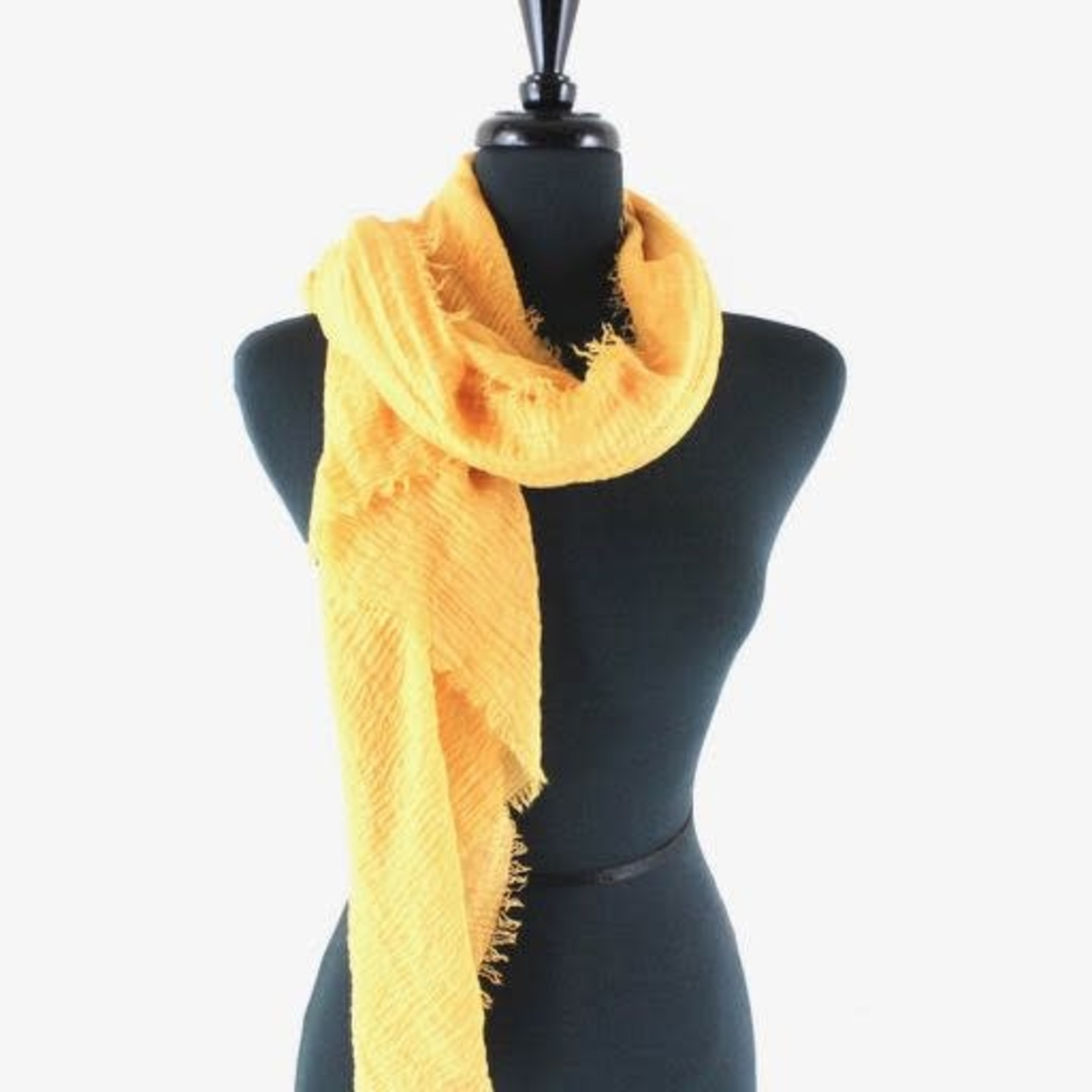 Golden Solid Scarf
