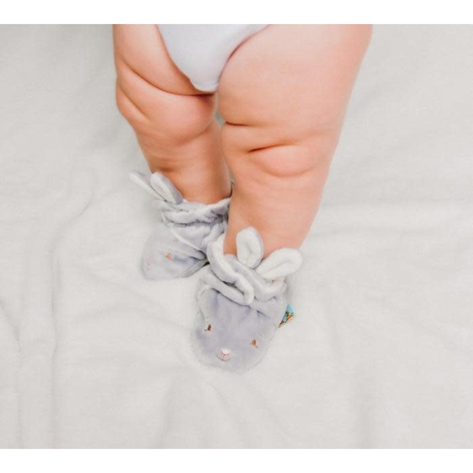 Bunnies By  Bay Bloom Boxed Hoppy Feet Slippers