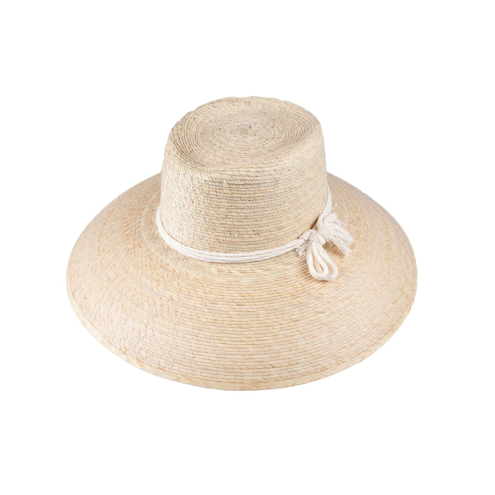 Jeanne Simmons Creme Bucket Brim Hat w/  Cotton Cord Detail