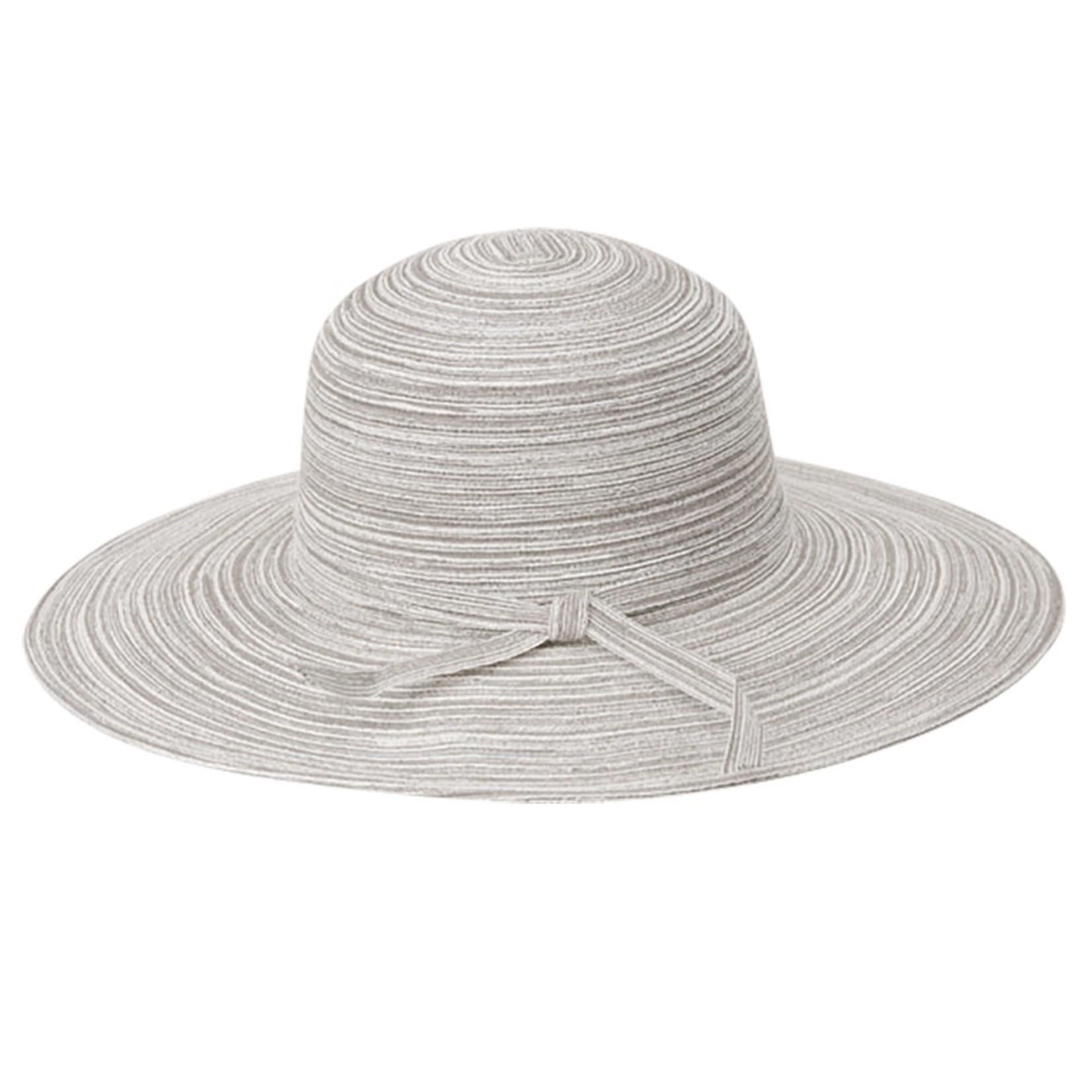 Jeanne Simmons Silver Braid Metallic Brimmed Hat