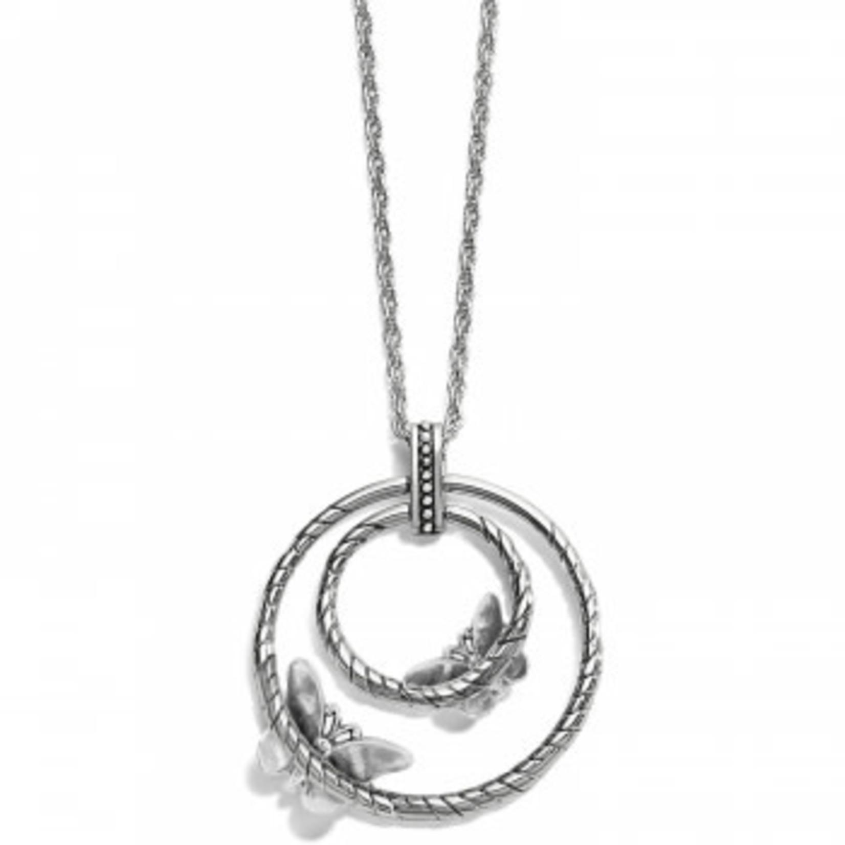 Brighton Solstice Bloom Necklace Silver