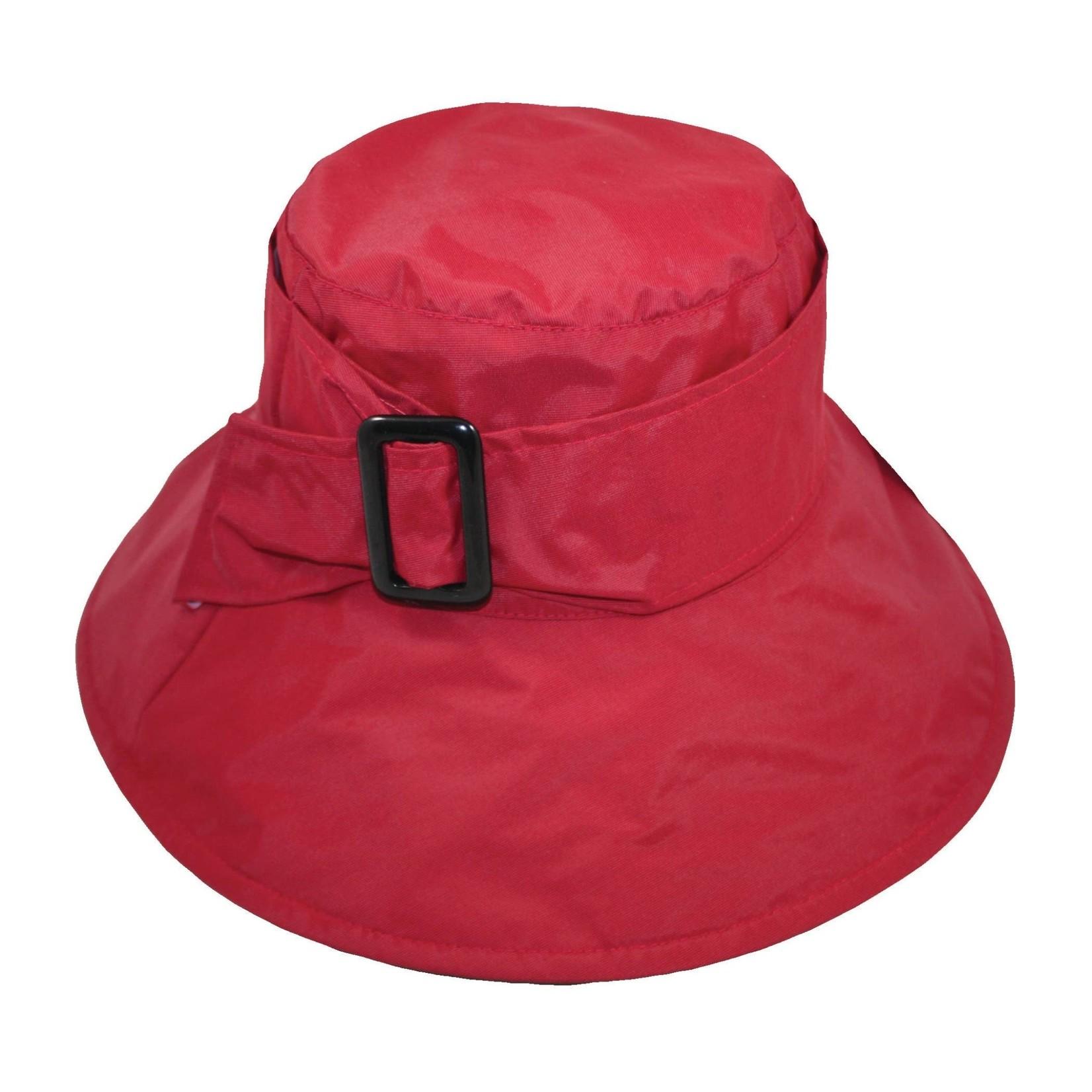 Jeanne Simmons Red Rain Bucket W/Buckle