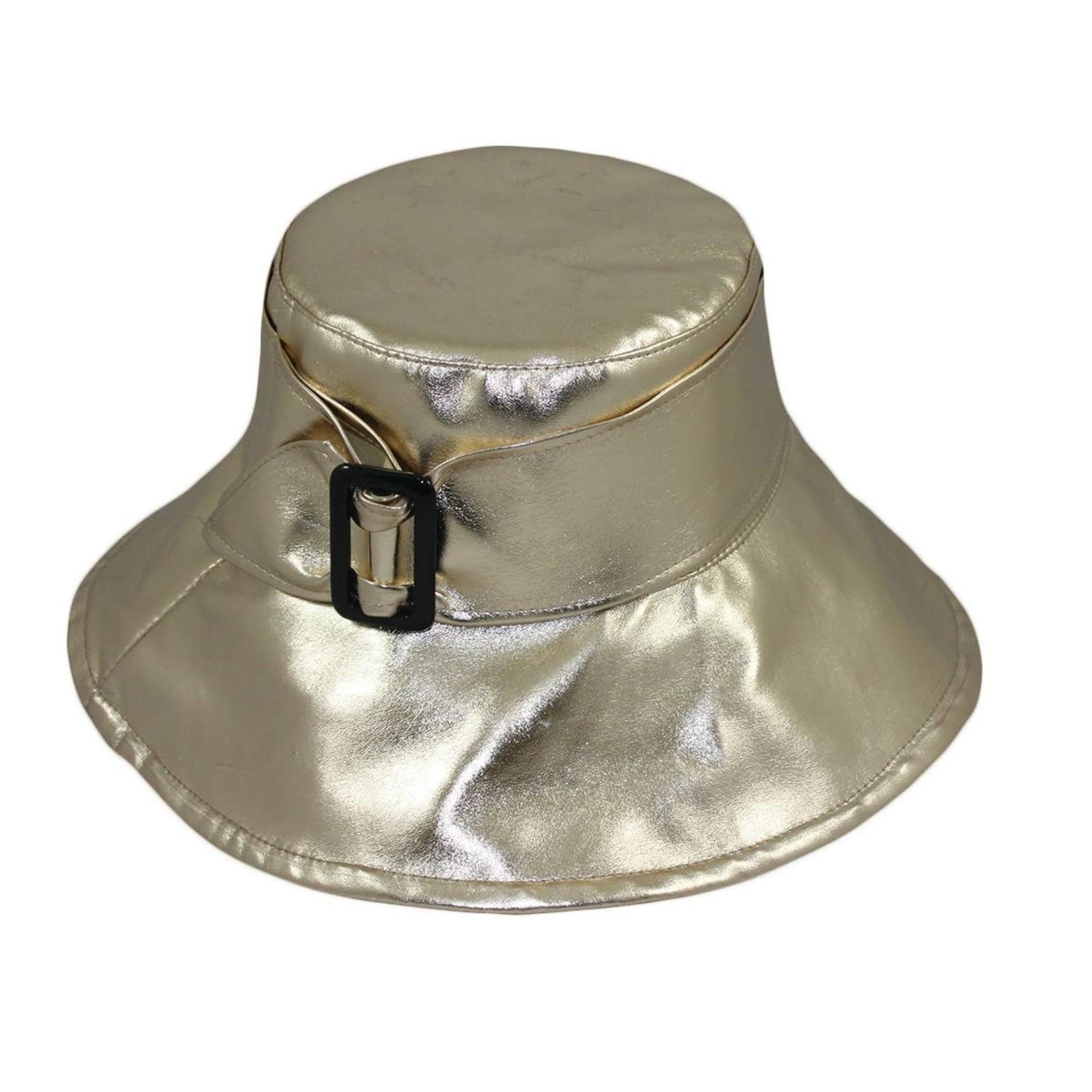 Jeanne Simmons Gold Rain Bucket W/Buckle