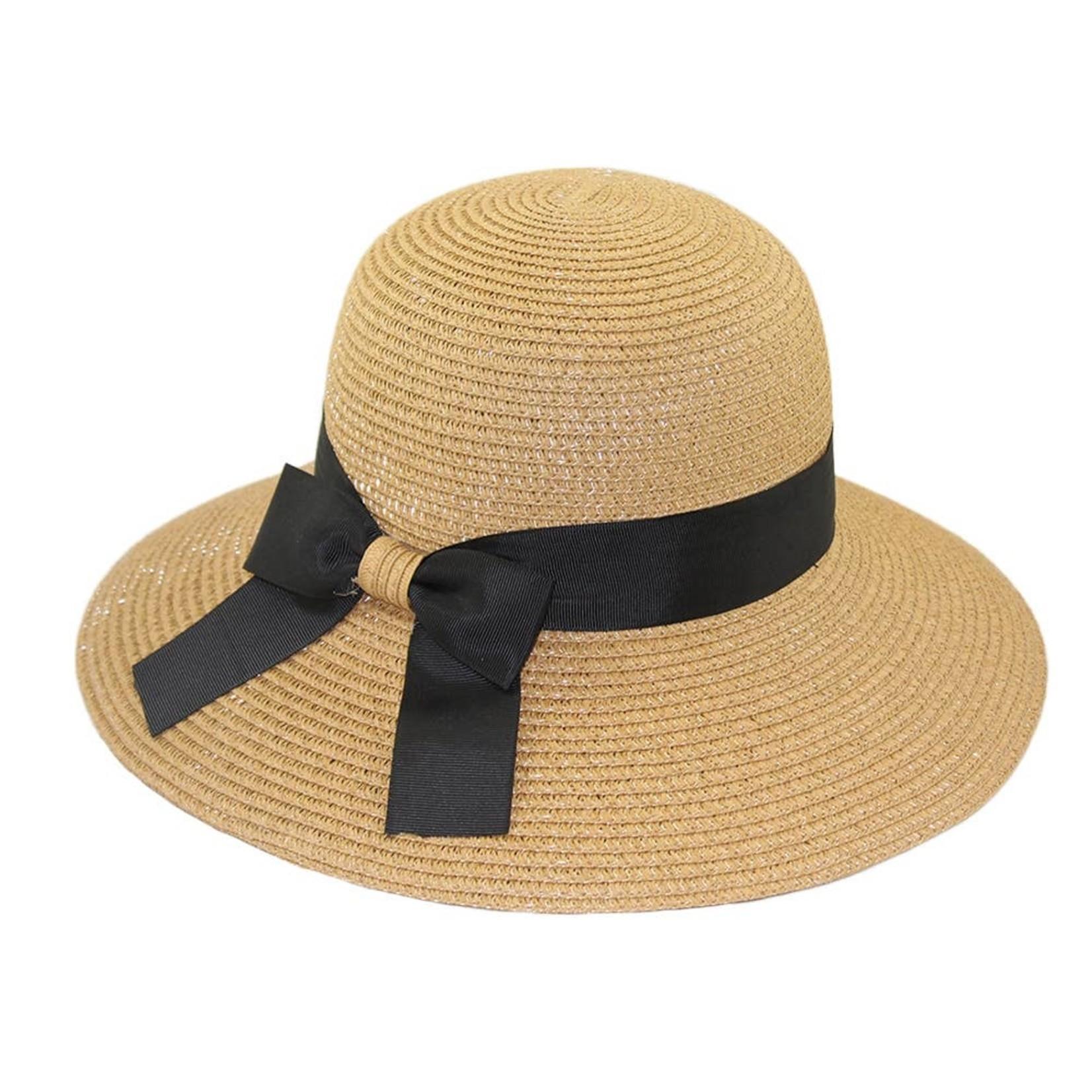 Hat Stack 73995 Bronze Bucket w/ Blk Ribbon