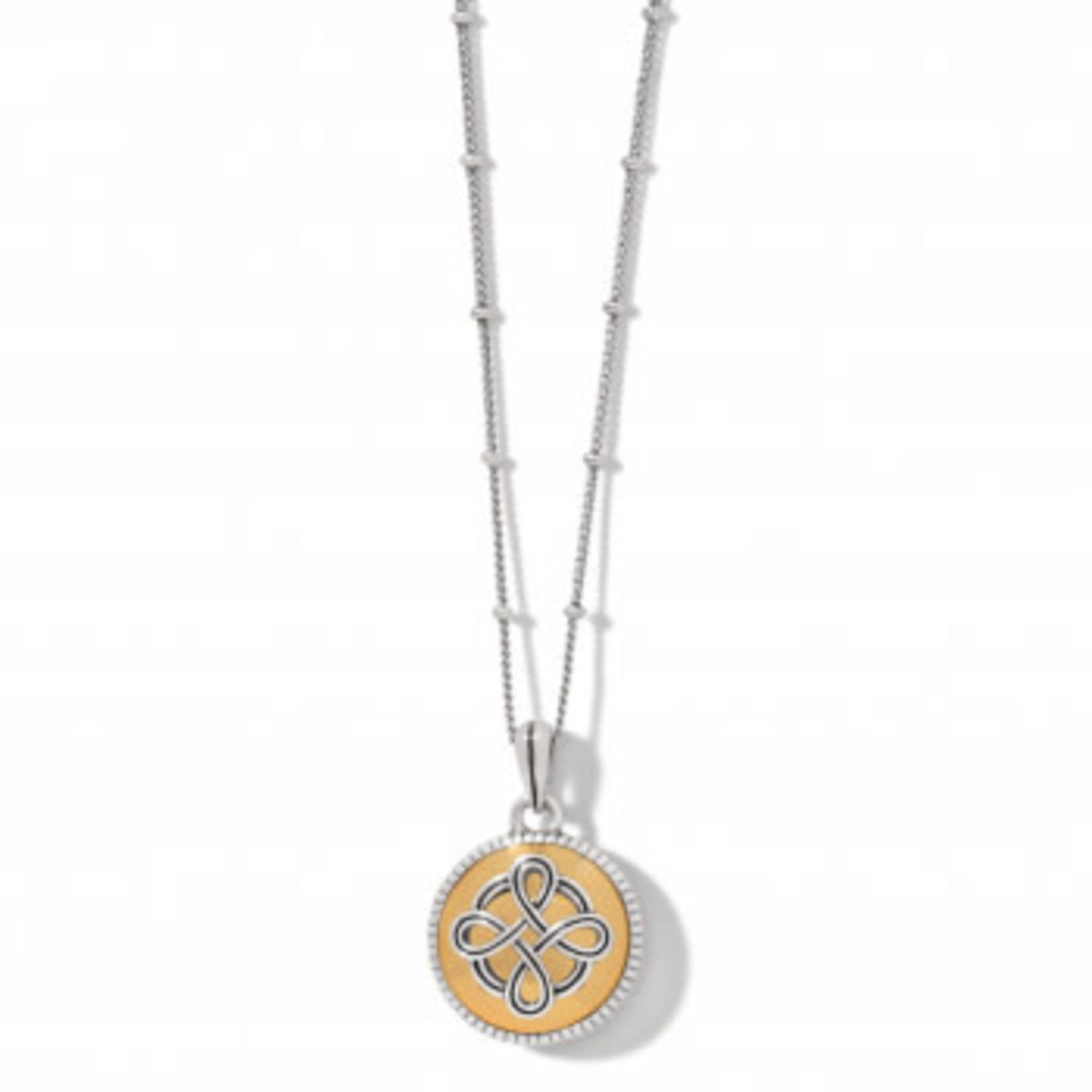Brighton Interlok Noir Reversible Necklace
