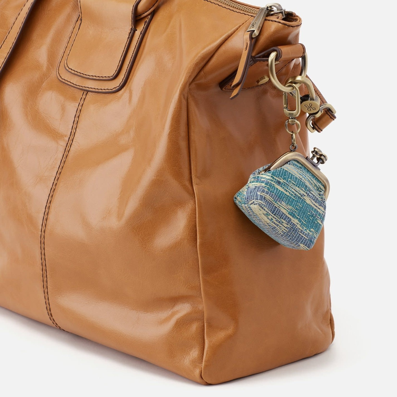 HOBO Run Cracked Glass Vintage Leather Frame Pouch