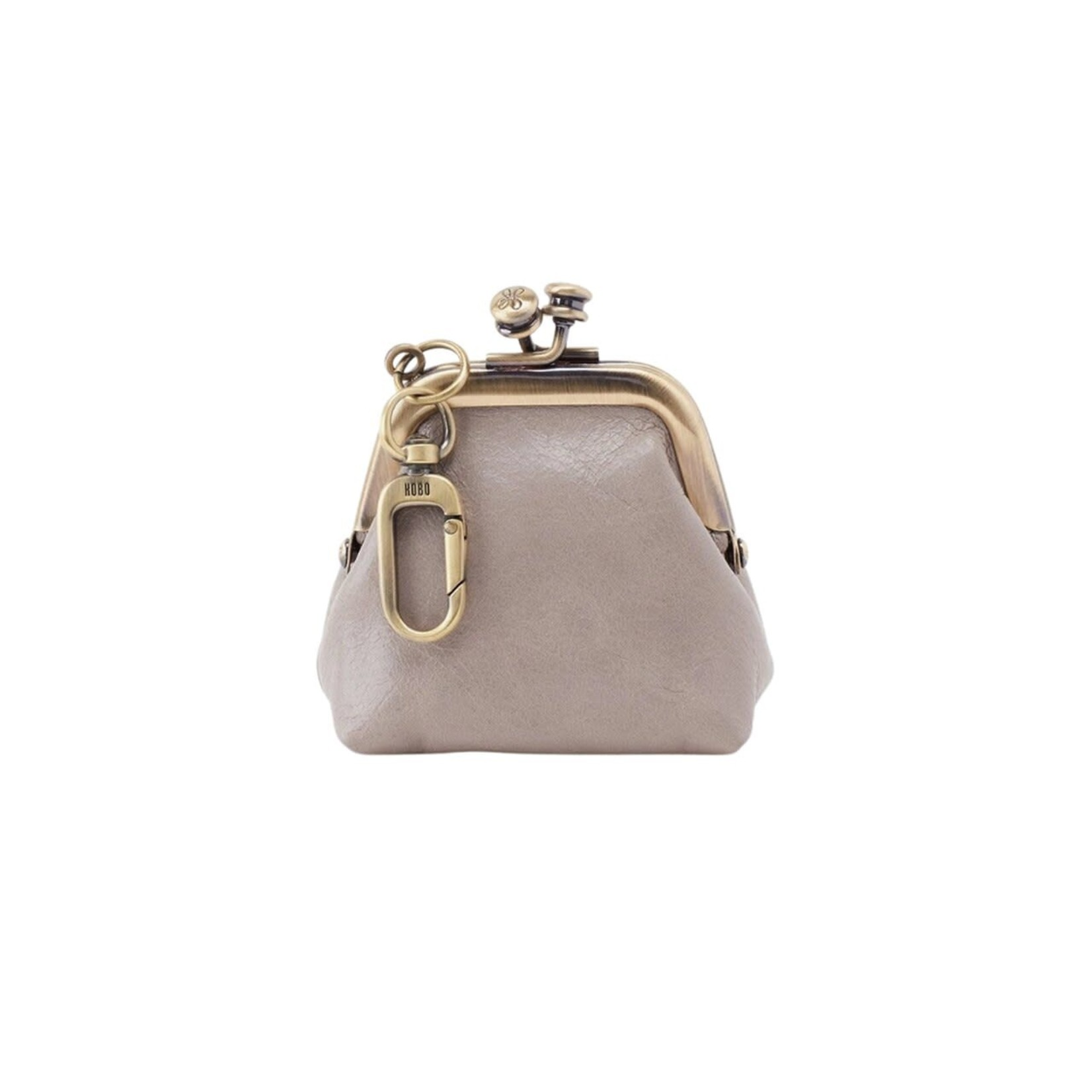 HOBO Run Driftwood Vintage Leather Frame Pouch
