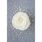 A'marie's Bath Flower Shop Gracious Pearl Petal Soap Flower