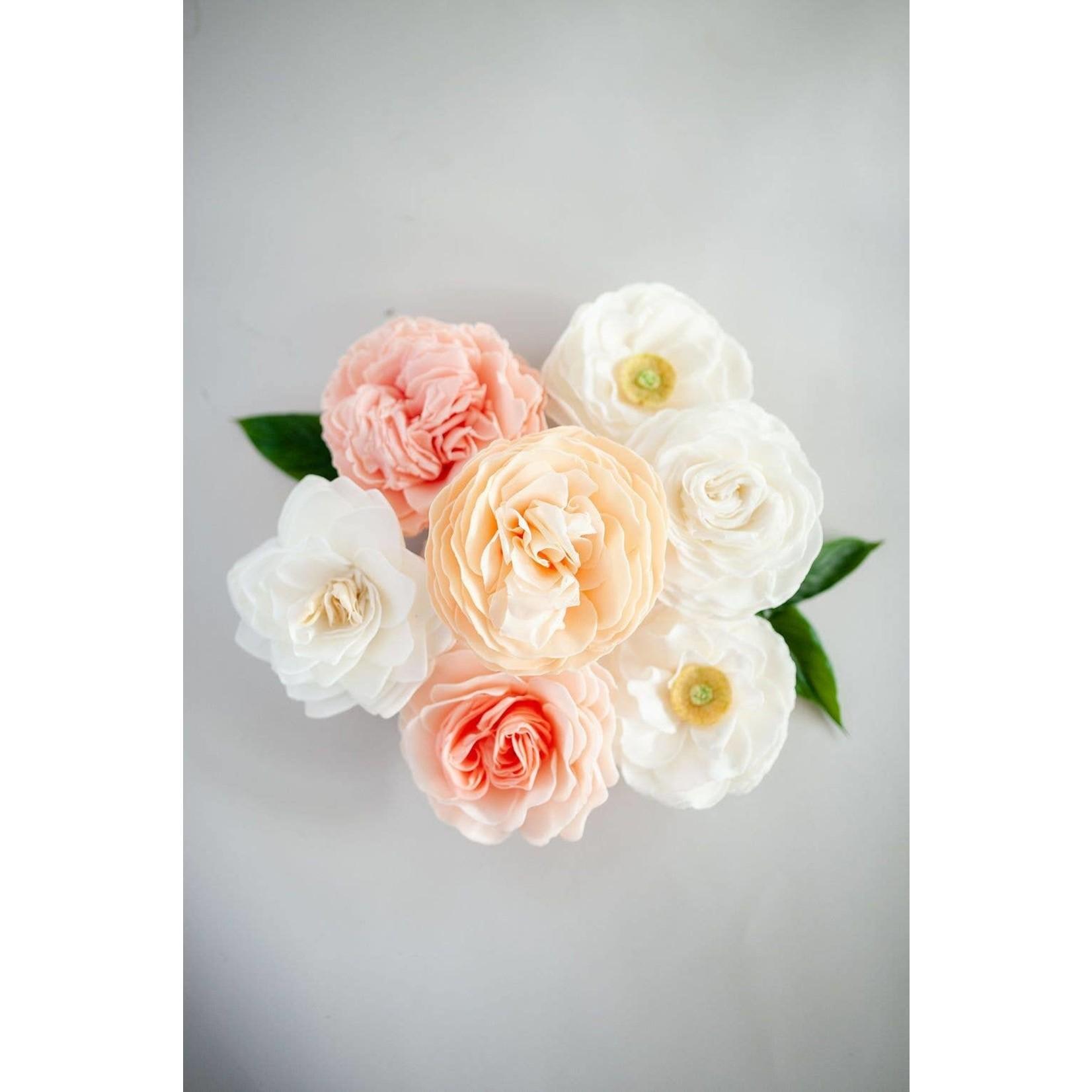 A'marie's Bath Flower Shop Heaven Scent Bathing Petal Soap Flower
