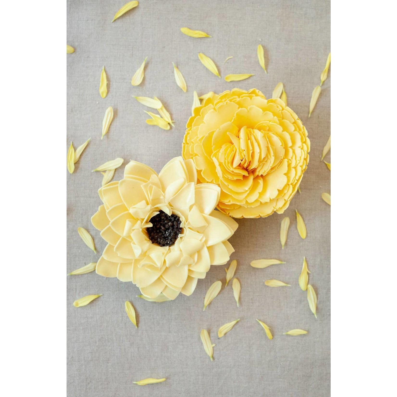 A'marie's Bath Flower Shop Sunny Days Bathing Petal Soap Flower